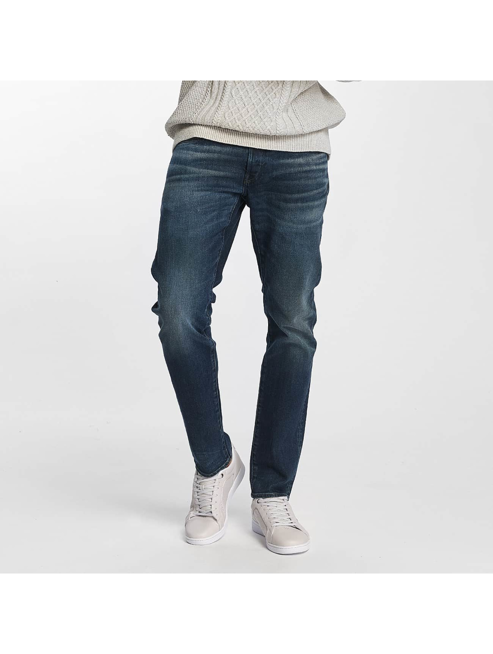 G-Star Männer Slim Fit Jeans 3301 Dava Strech Deconstructed in blau