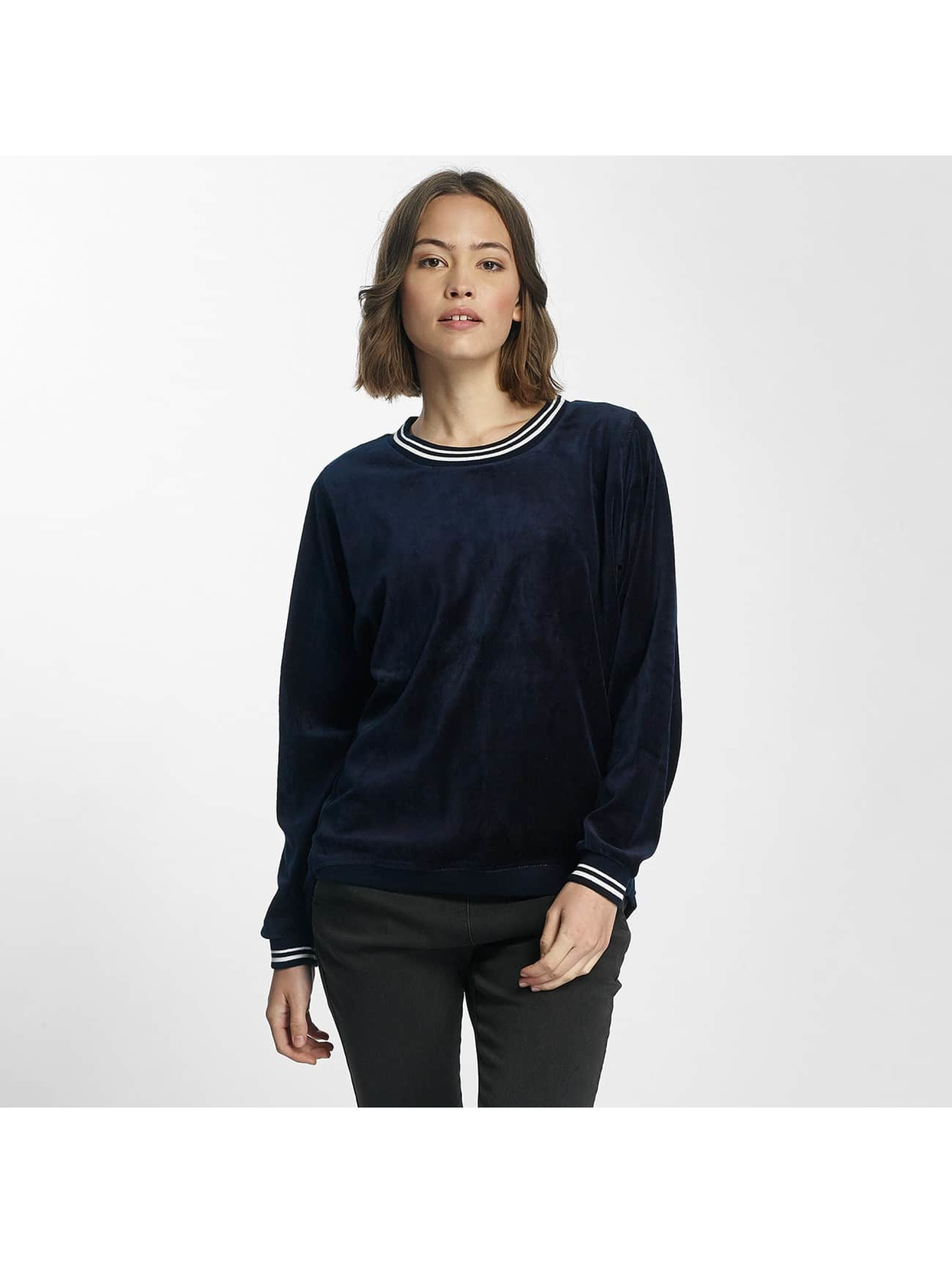 Nümph Frauen Pullover Nicola in blau