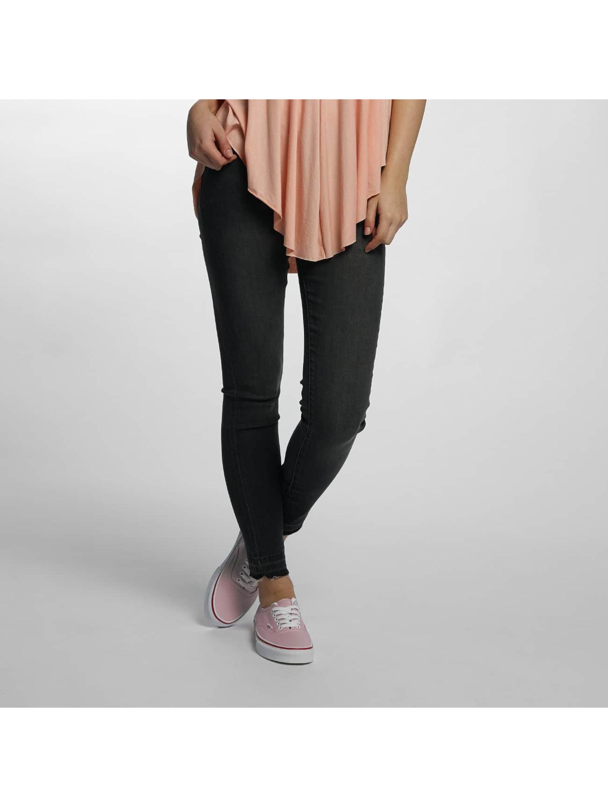 Hailys Frauen Skinny Jeans Nadja in grau