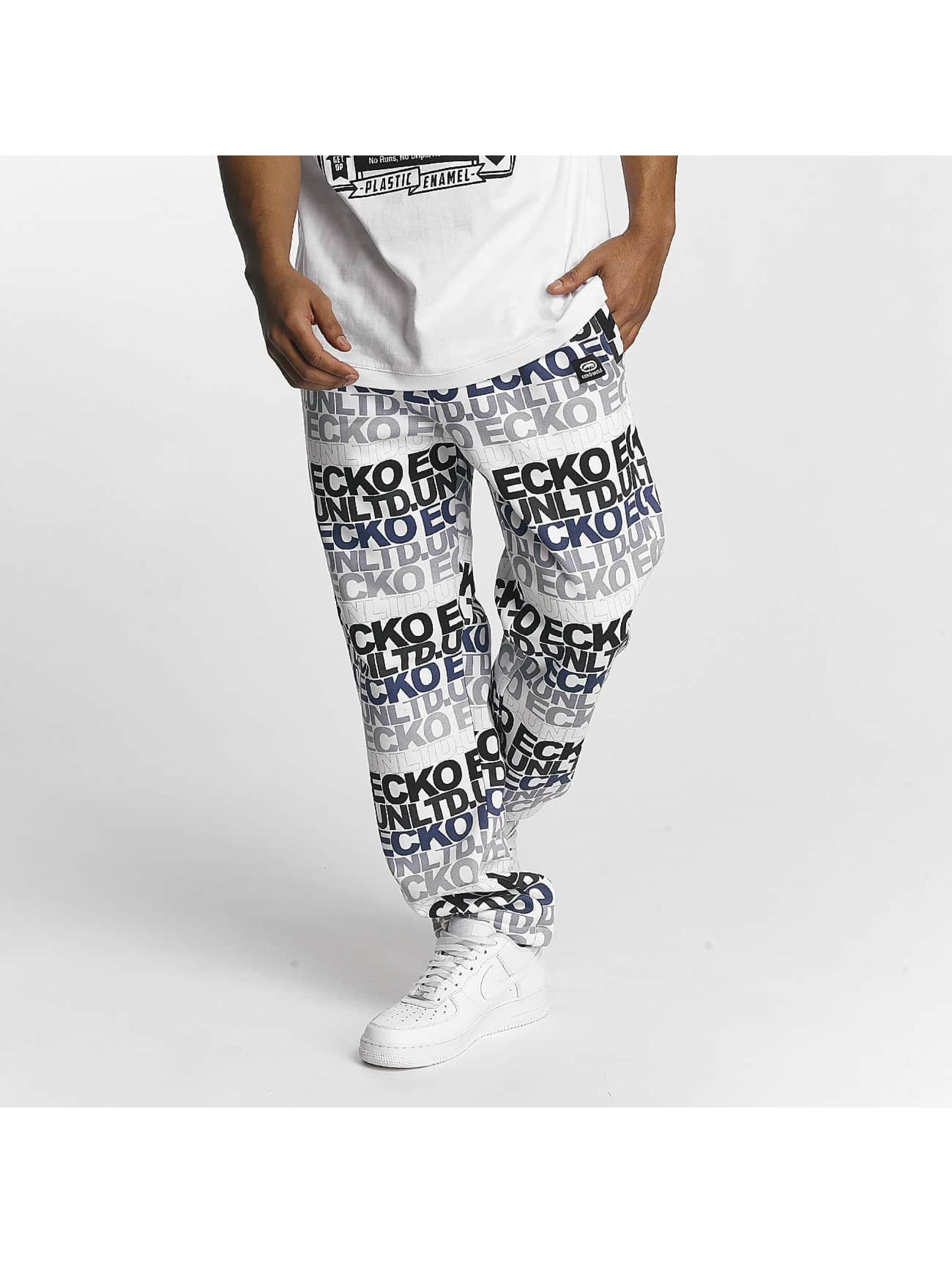 Ecko Unltd. / Sweat Pant TroudÀrgent in white XL