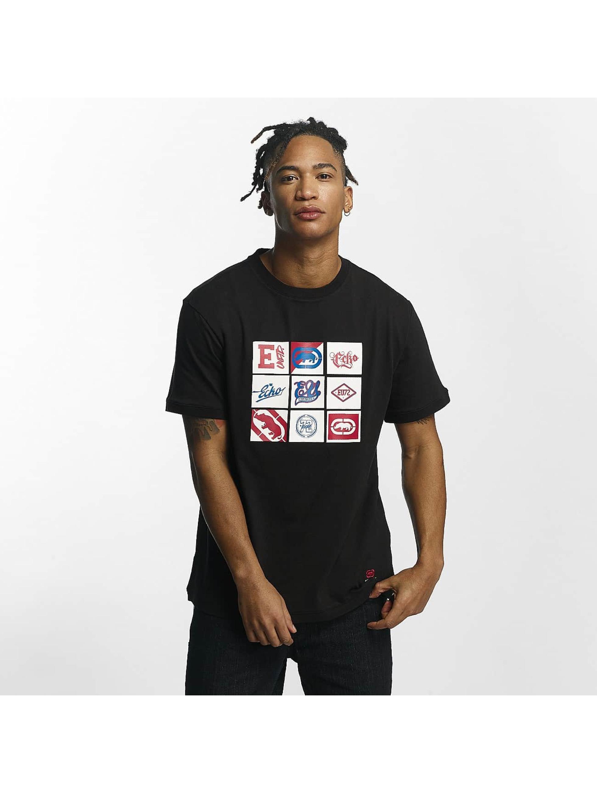 Ecko Unltd. / T-Shirt Clifton in black 4XL