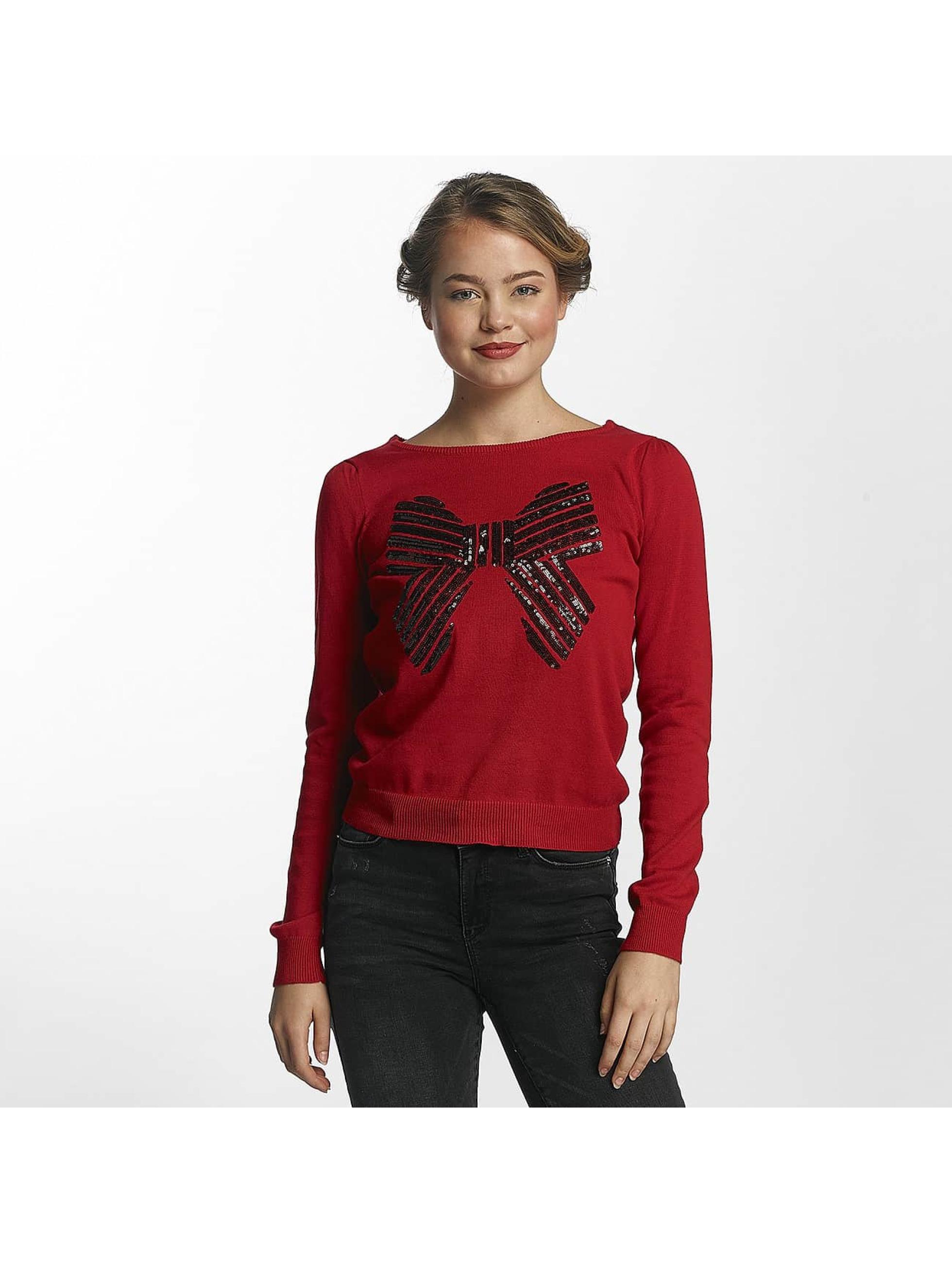Vero Moda Frauen Pullover vmAncer in rot