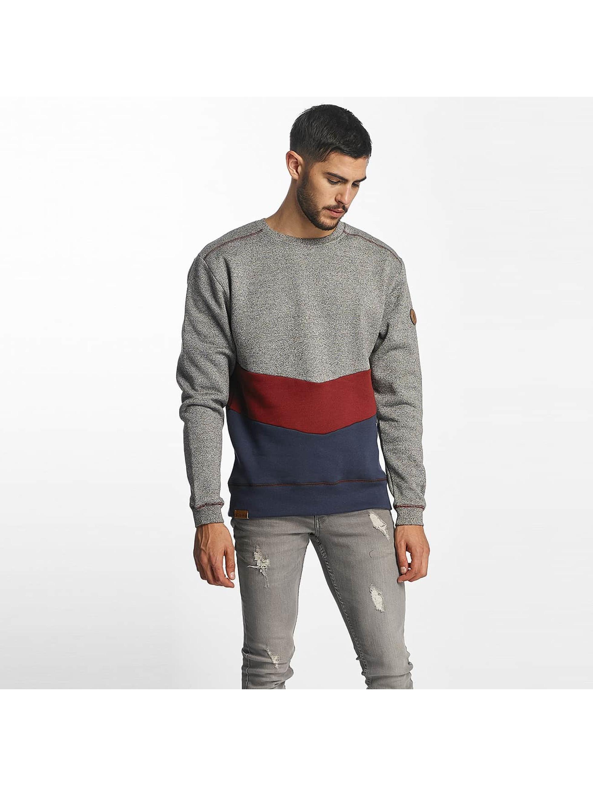 Shisha Männer Pullover Diagonaal in grau