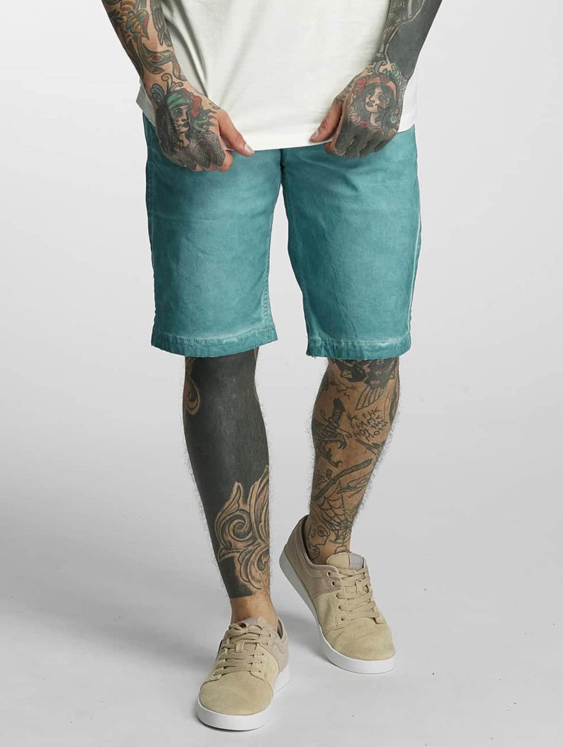 Khujo Männer Shorts Calvin in blau