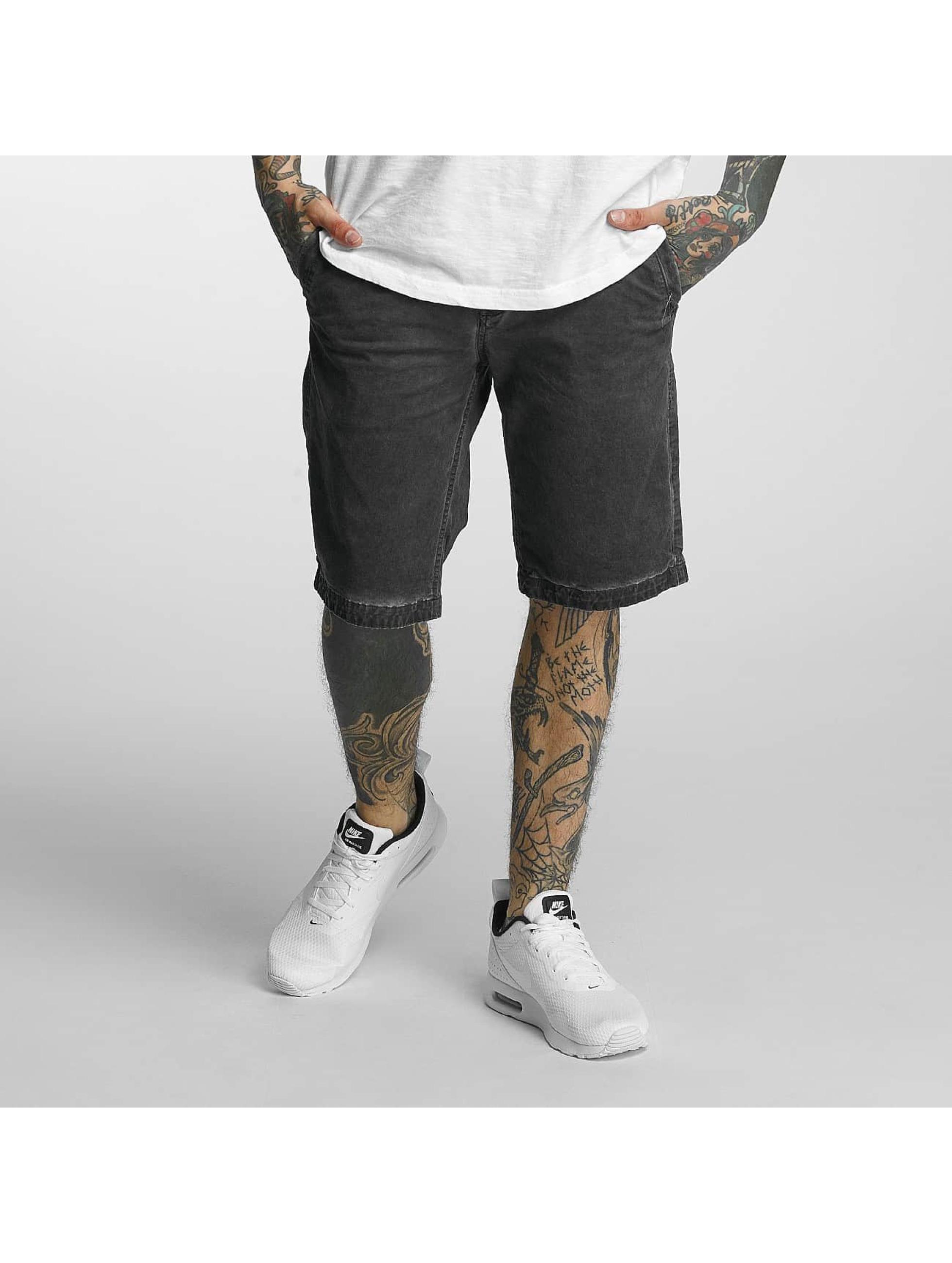 Khujo Männer Shorts Calvin in grau