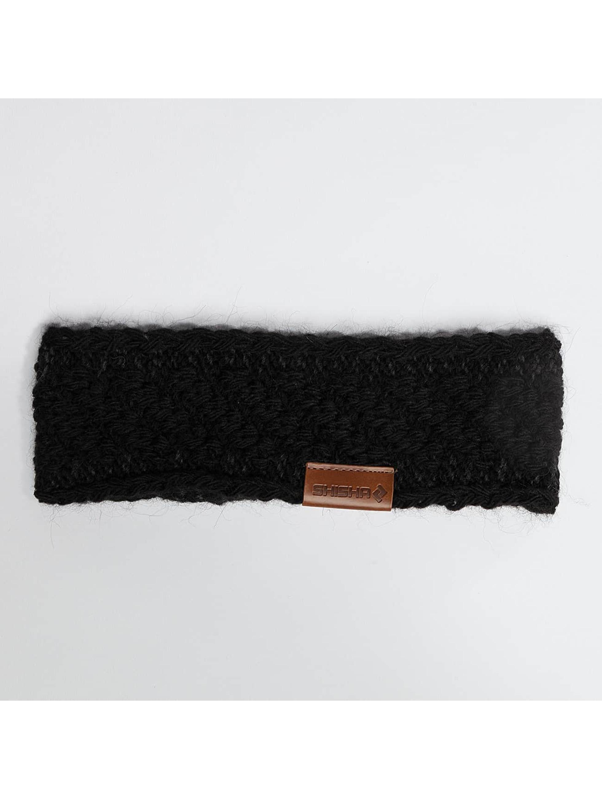 Shisha Frauen Mütze / Ohrenschützer Steern in schwarz