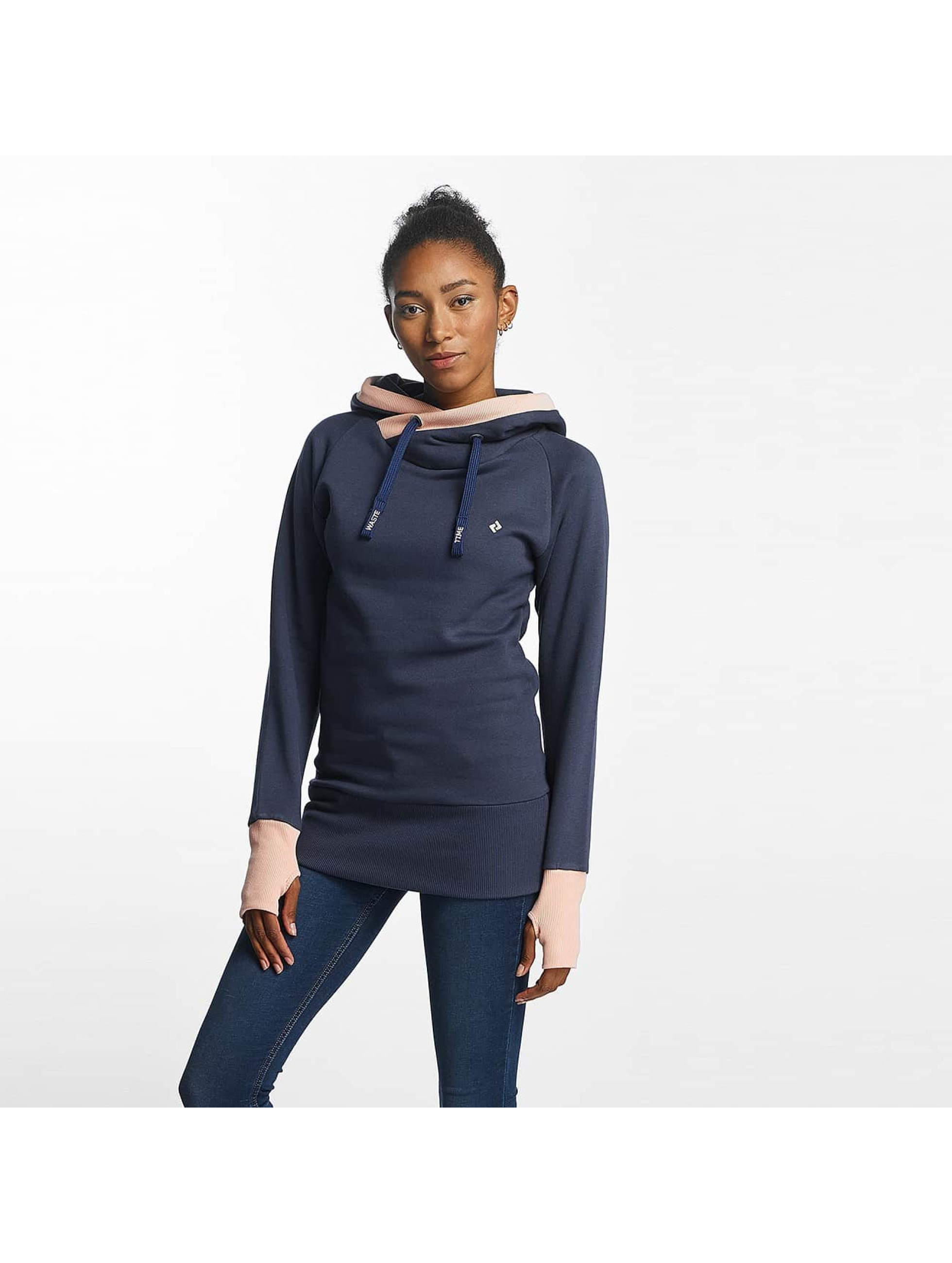 Shisha Frauen Hoody Jera Long in blau