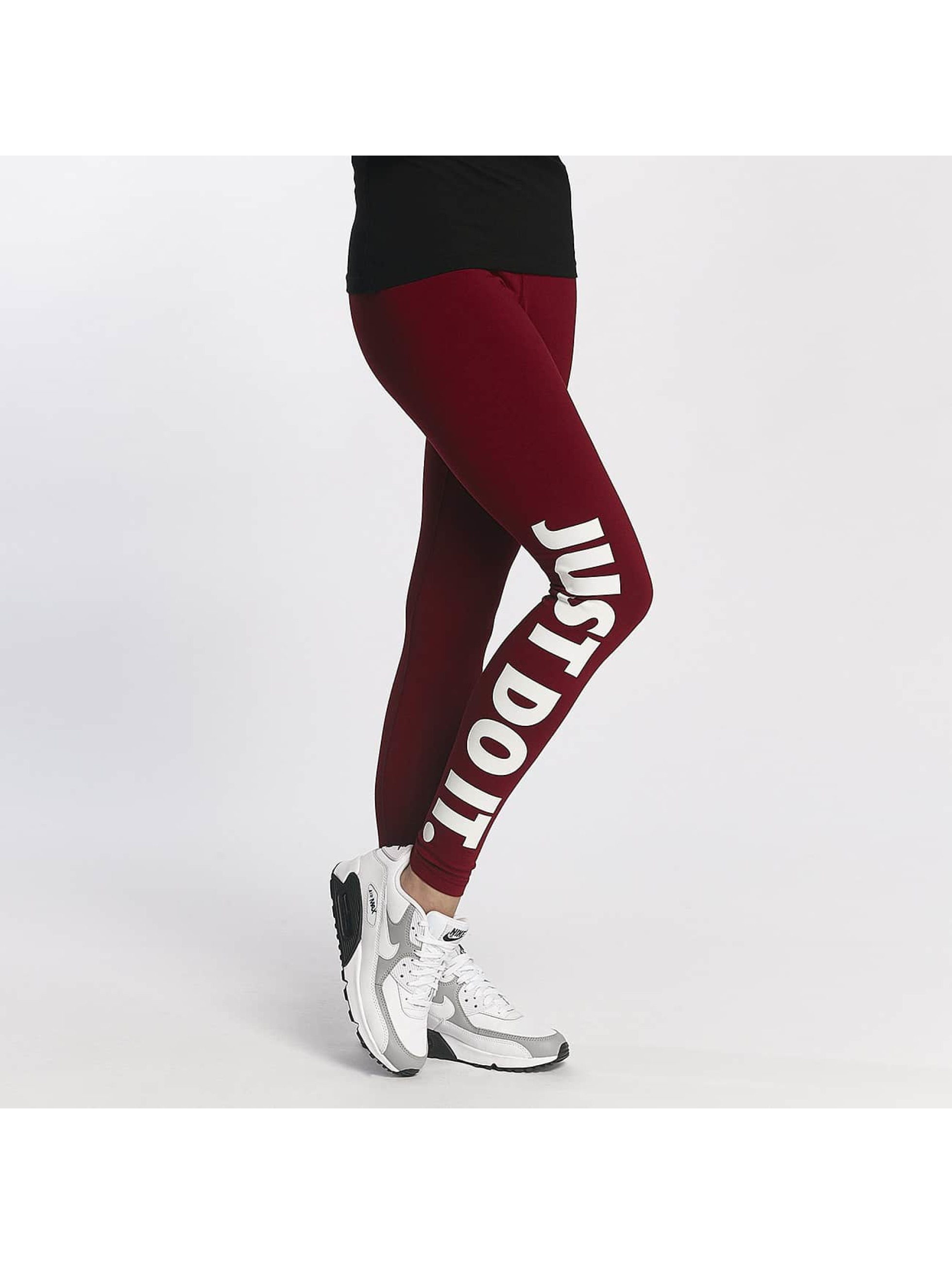 Nike Frauen Legging Leg-A-See Just Do It in rot