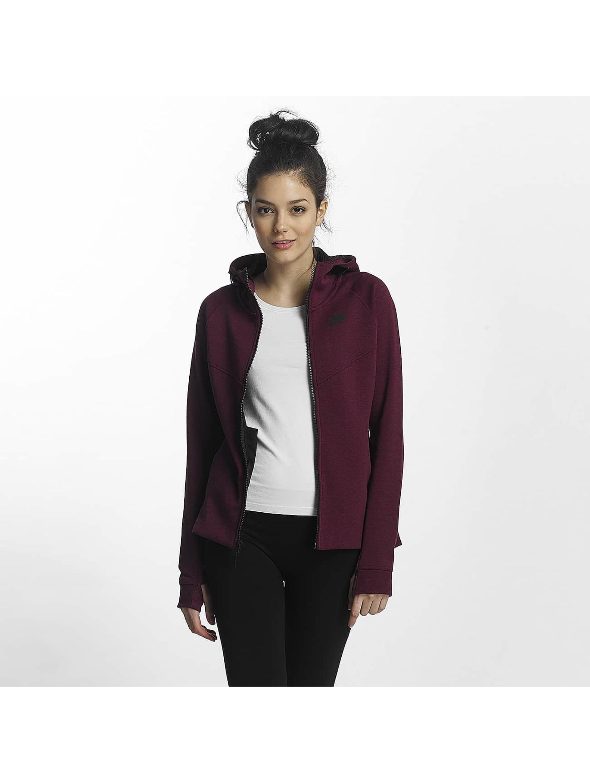 Nike Frauen Übergangsjacke Tech Fleece in violet