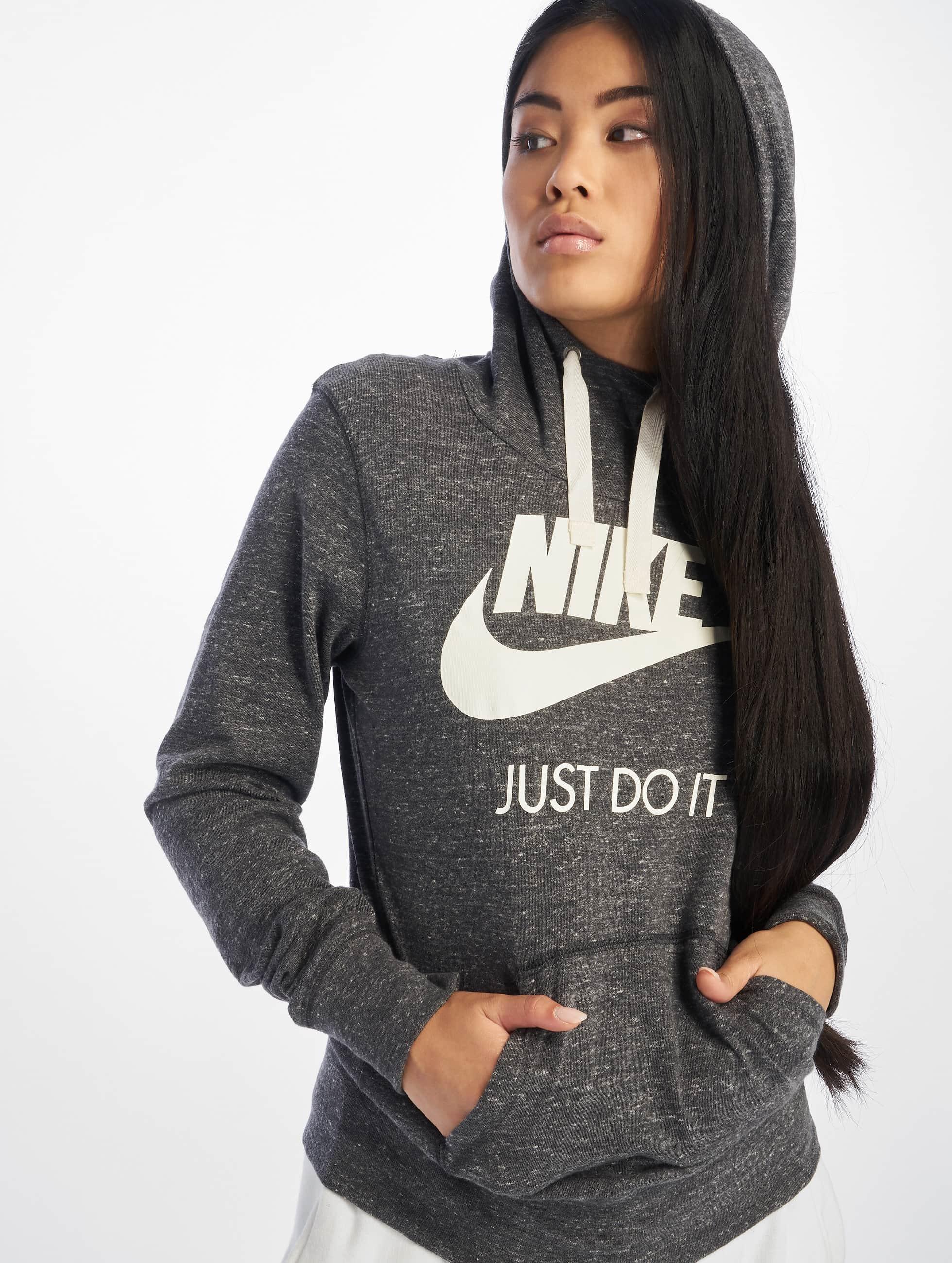 Nike Frauen Hoody Gym Vintage in grau