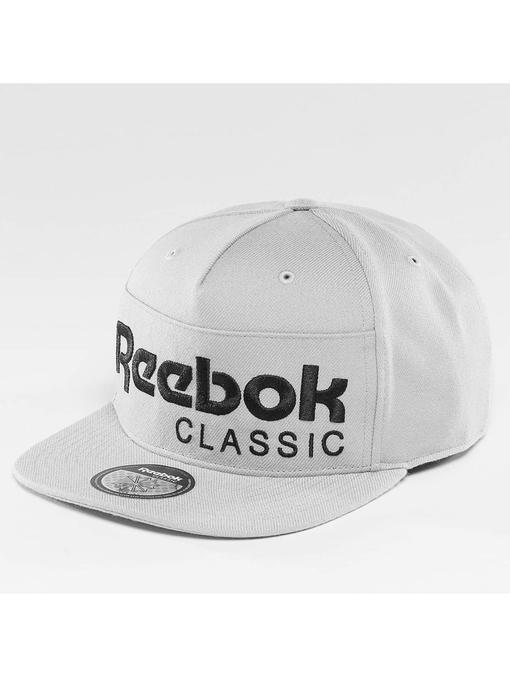 Reebok Männer,Frauen Snapback Cap Foundation in grau