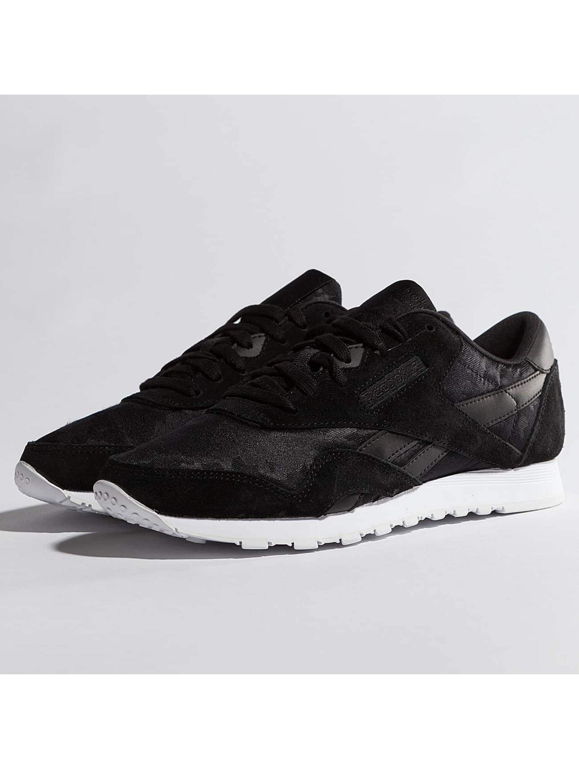 Reebok Frauen Sneaker Classic Nylon in schwarz