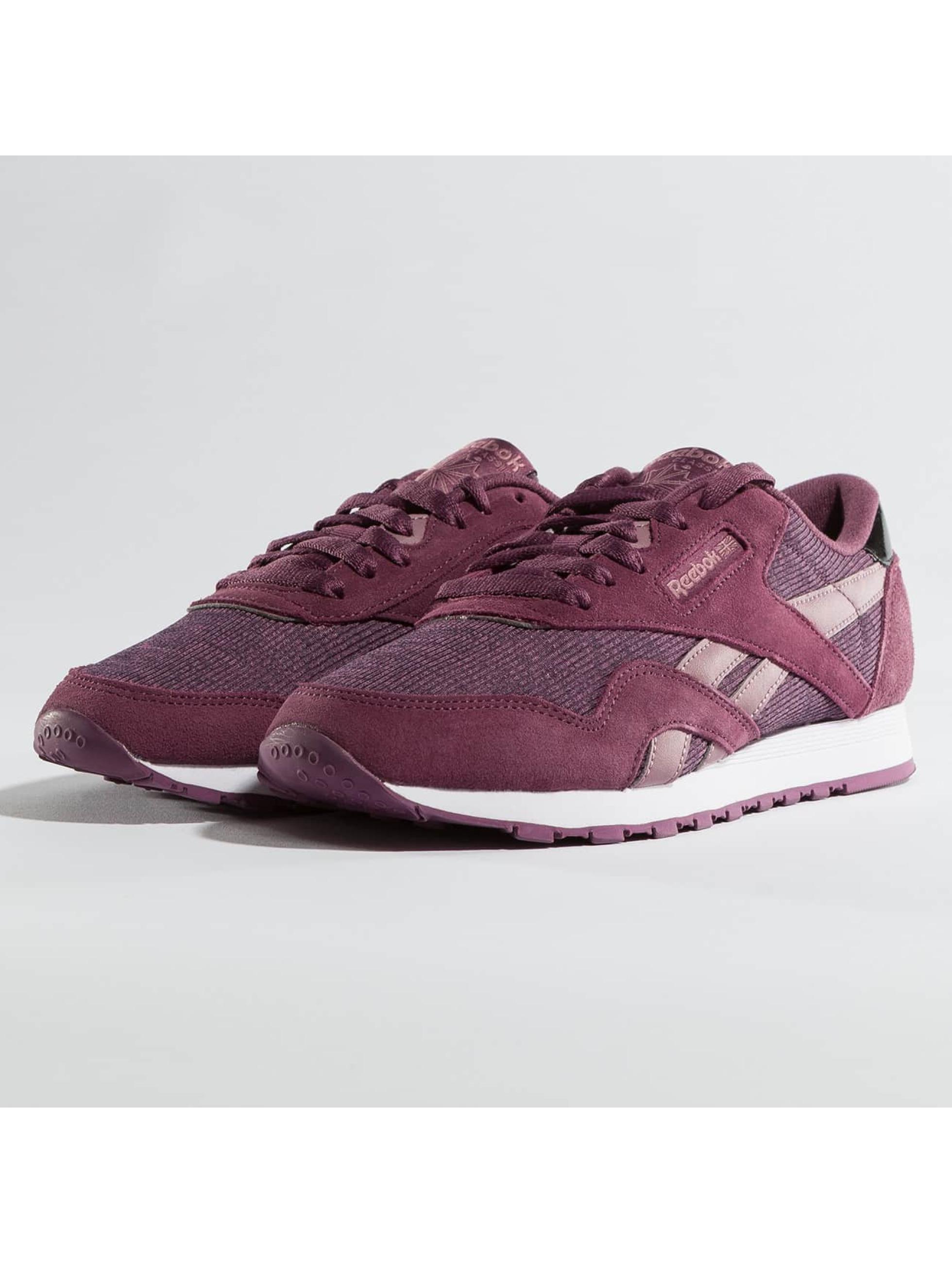 Reebok Frauen Sneaker Classic Nylon in violet