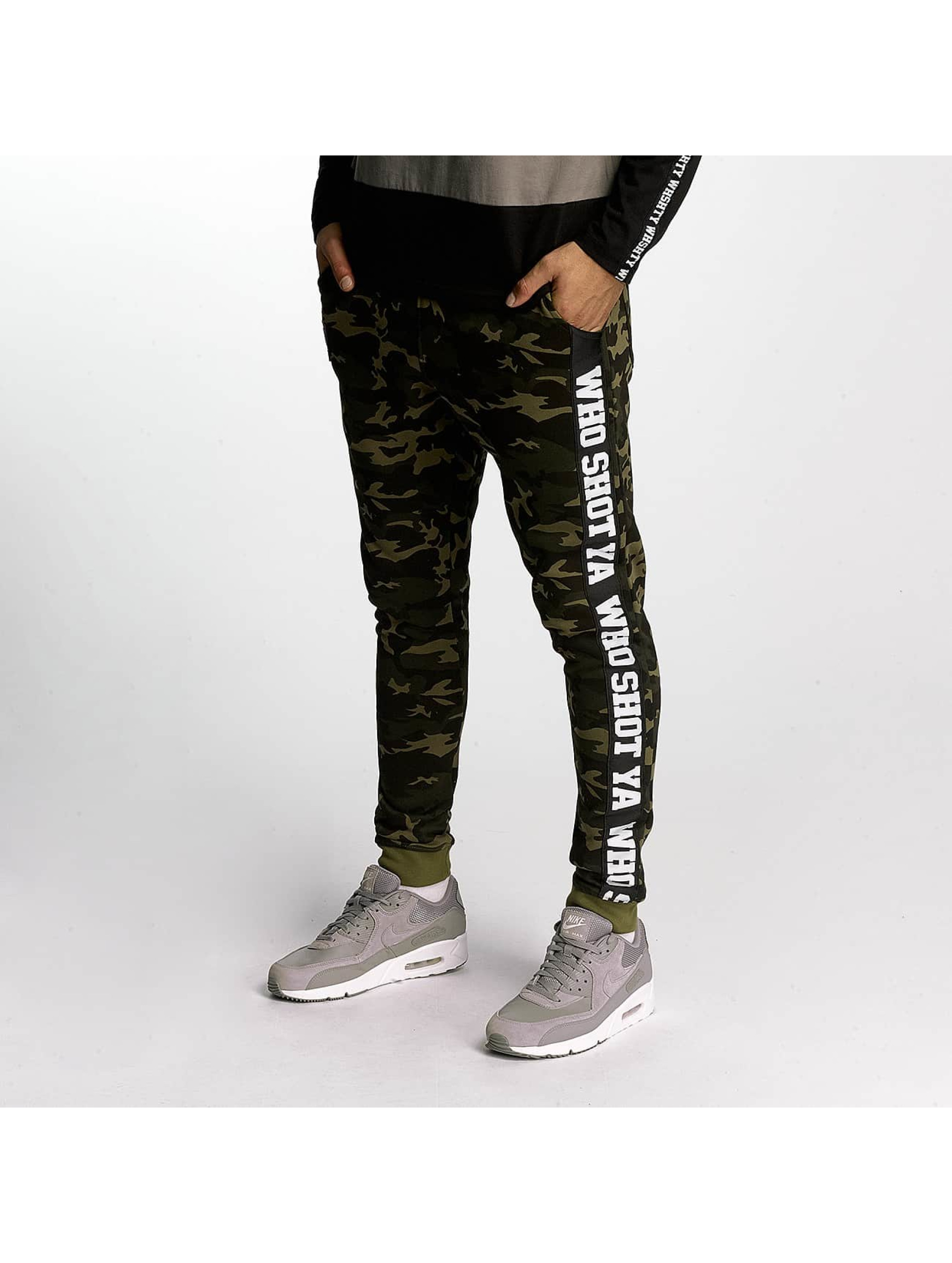 Who Shot Ya? / Sweat Pant BigWho in green XL