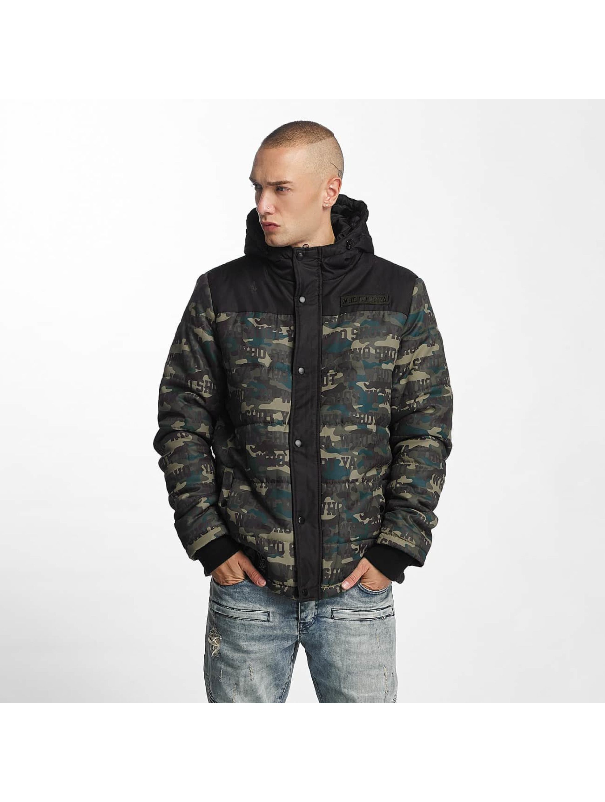 Who Shot Ya? / Winter Jacket Uniondale in camouflage 2XL