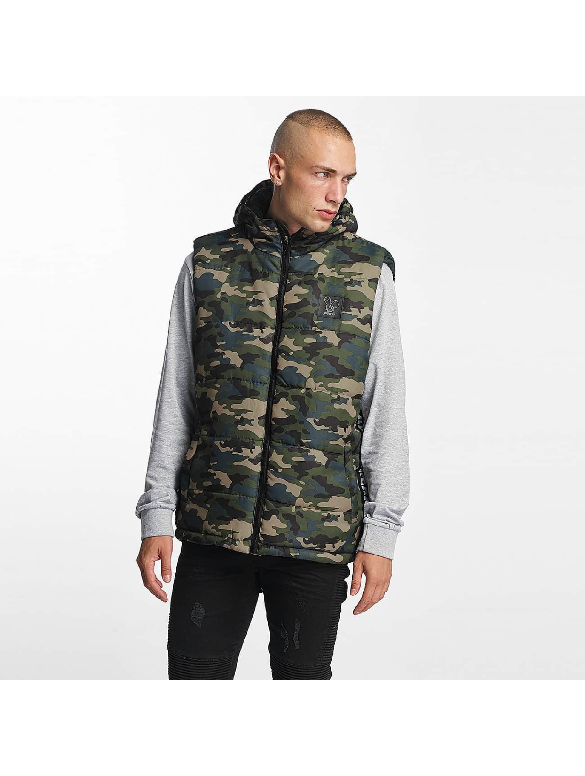Who Shot Ya? / Vest BigWho Quilted in green XL