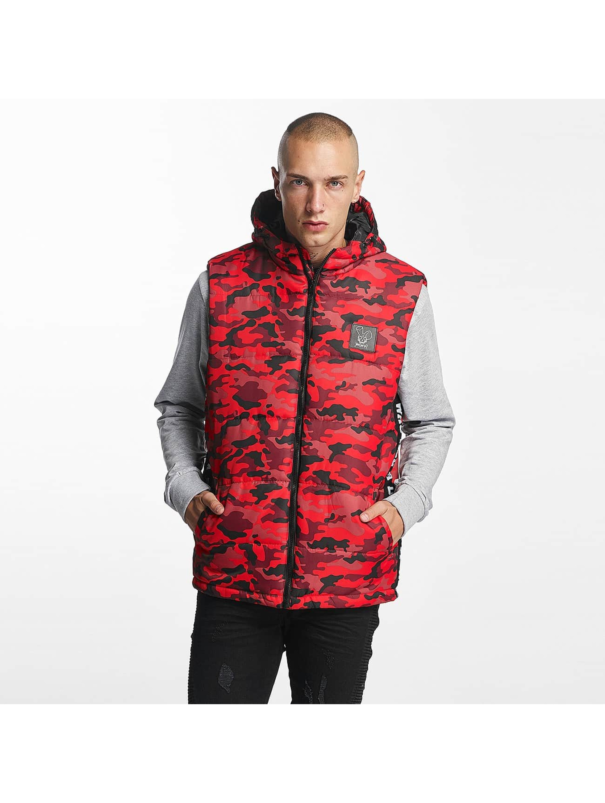 Who Shot Ya? / Vest BigWho Quilted in red XL