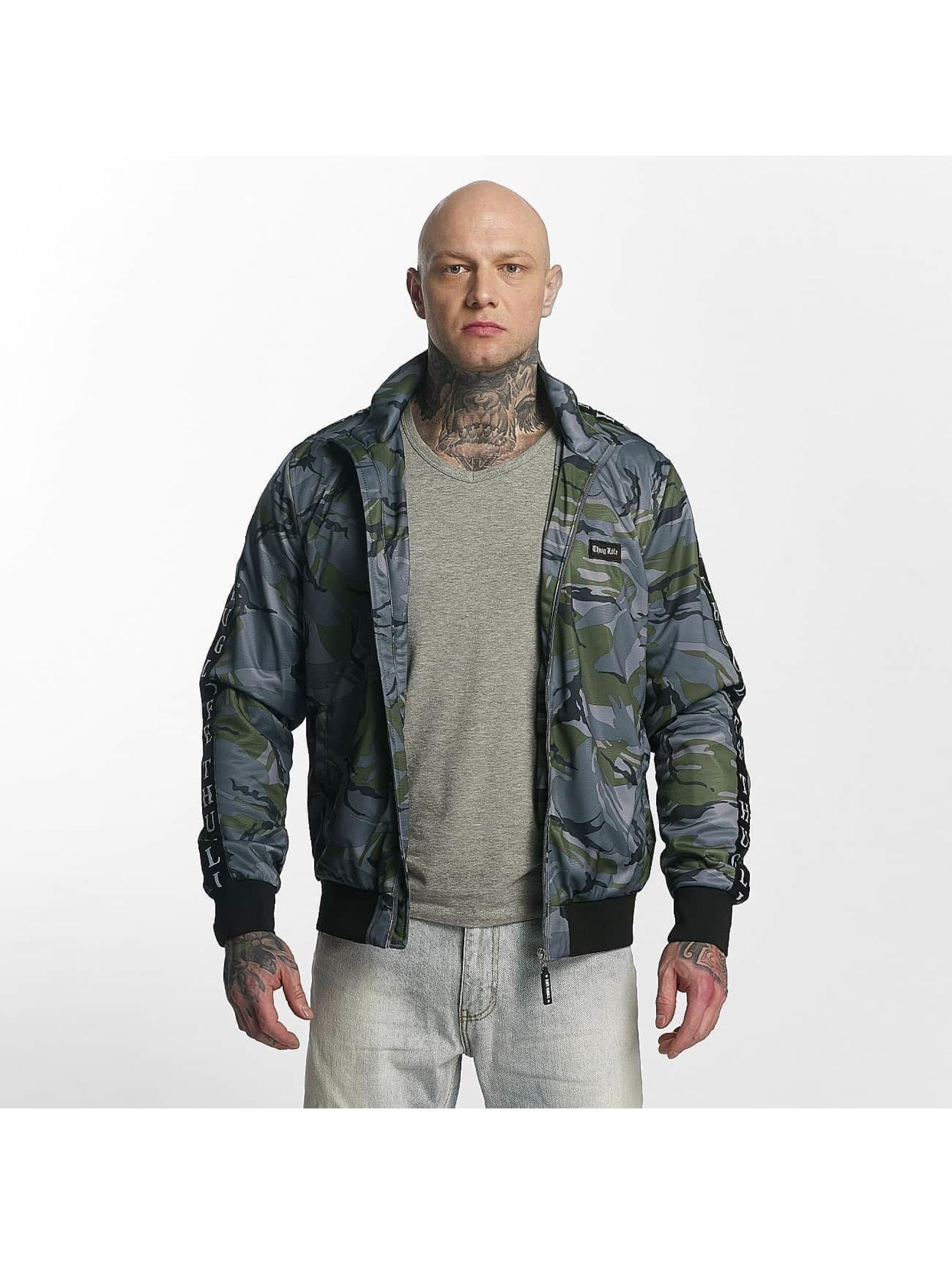 Thug Life / Lightweight Jacket Wired in grey XL