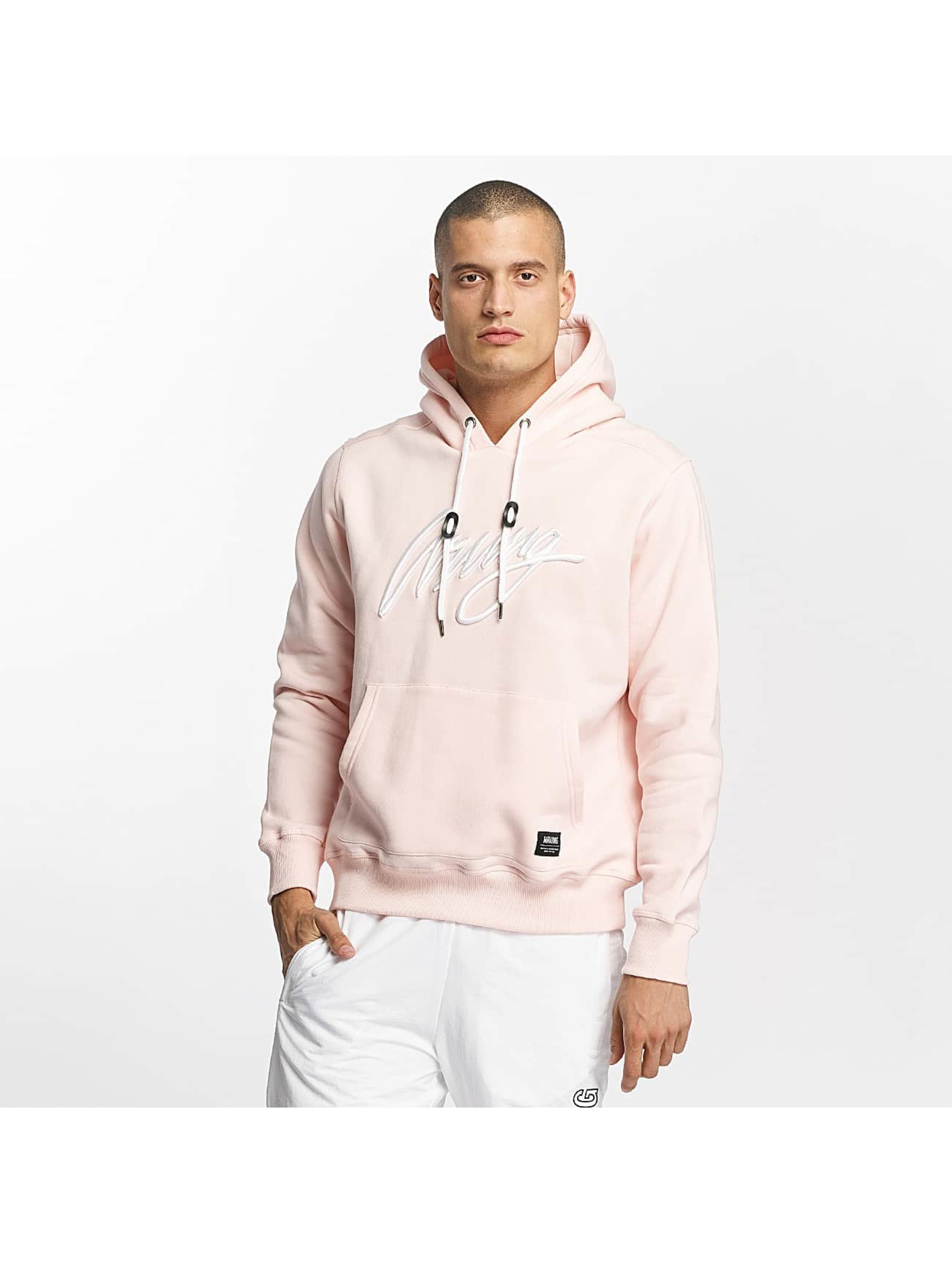 Wrung Division Männer Hoody Signature in rosa