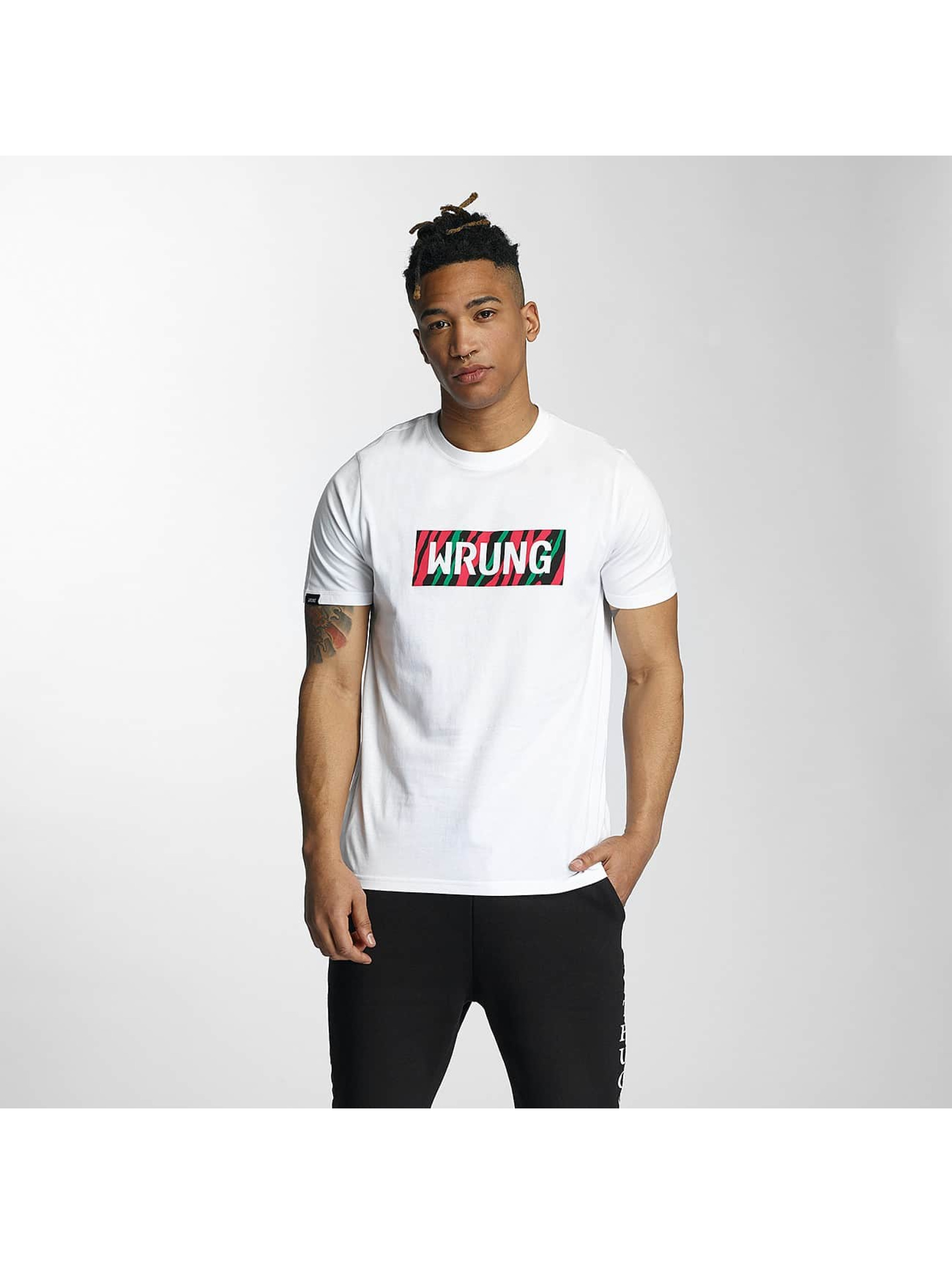 Wrung Division Männer T-Shirt Box Phife in weiß