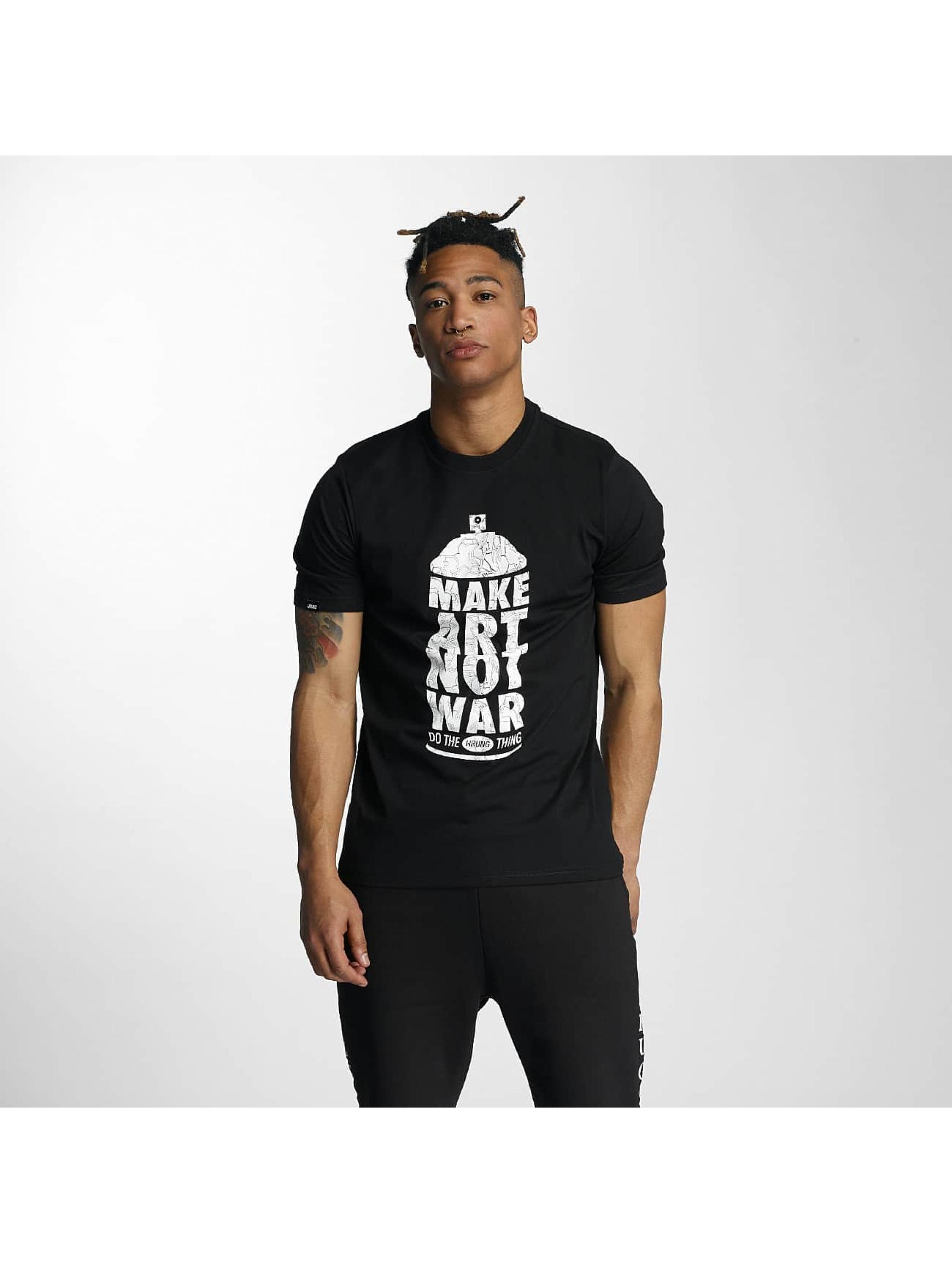 Türkendorf Angebote Wrung Division Männer T-Shirt Manw Dize in schwarz