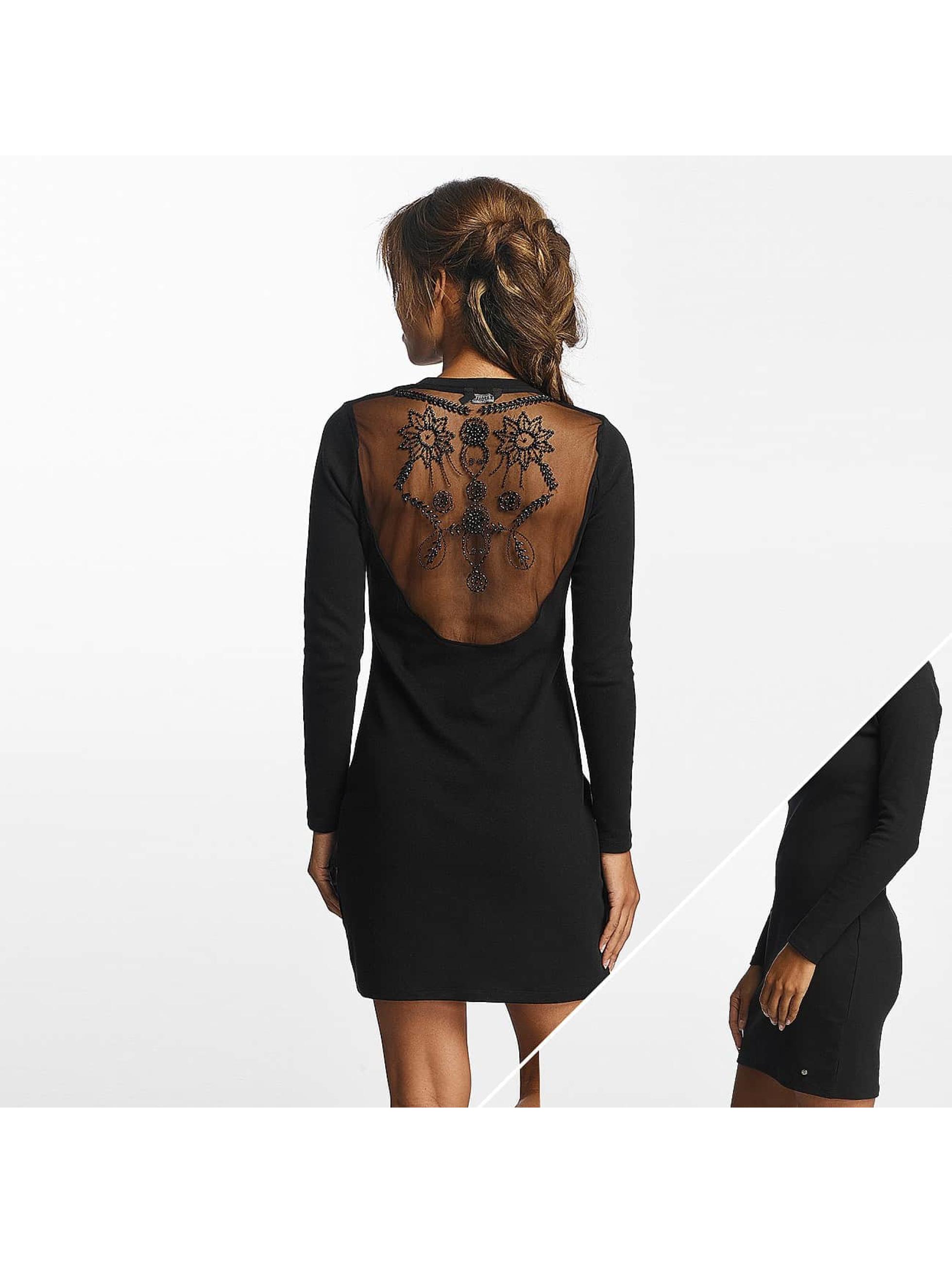Kaporal Frauen Kleid Audrey in schwarz
