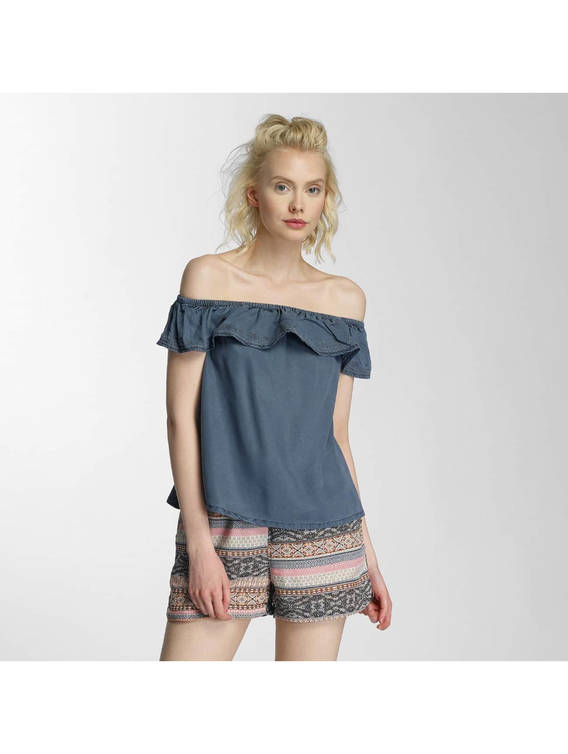 Vero Moda Frauen Bluse vmKatinka in blau