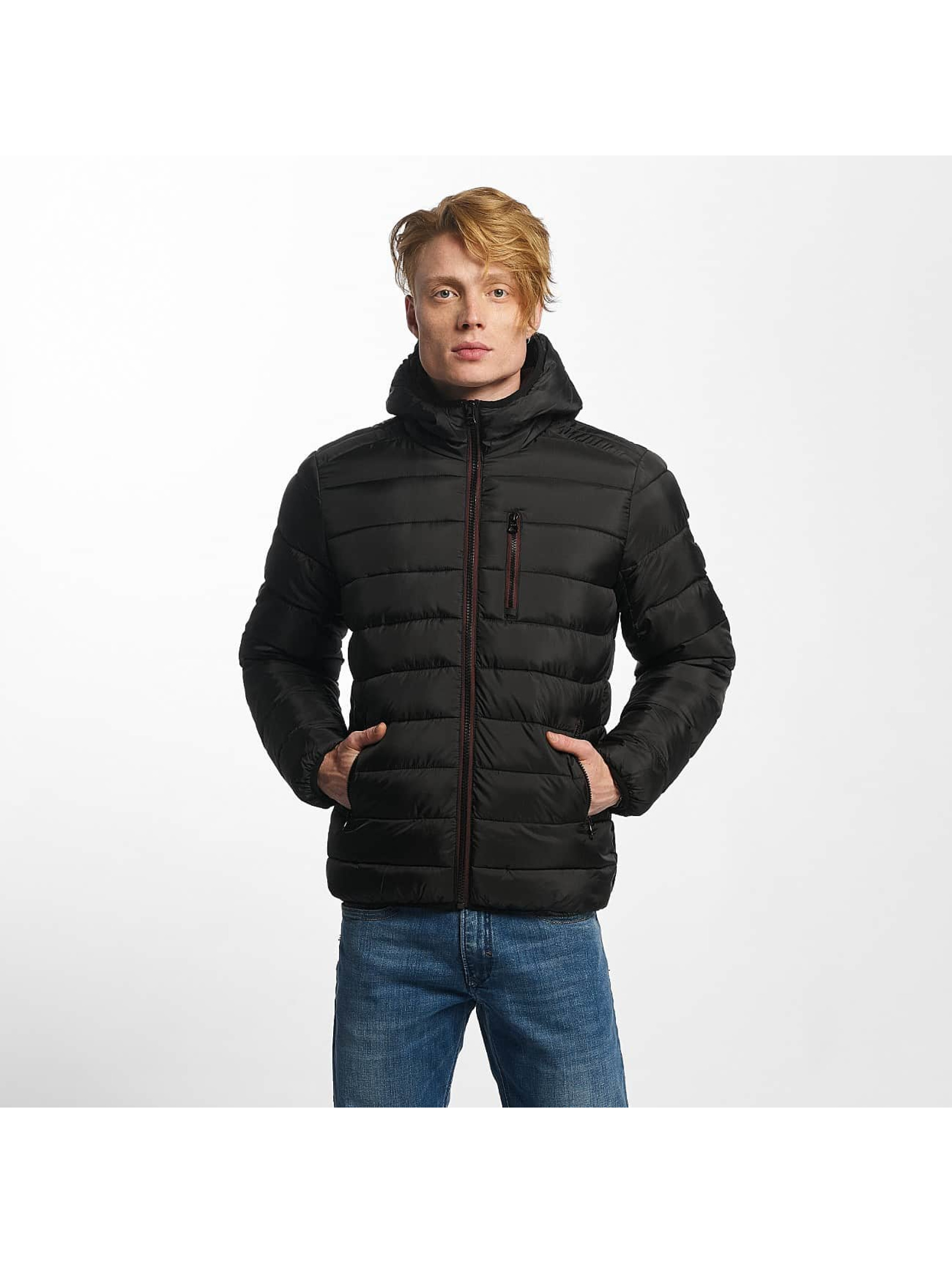 Kaporal Männer Winterjacke Cocoon Out in schwarz