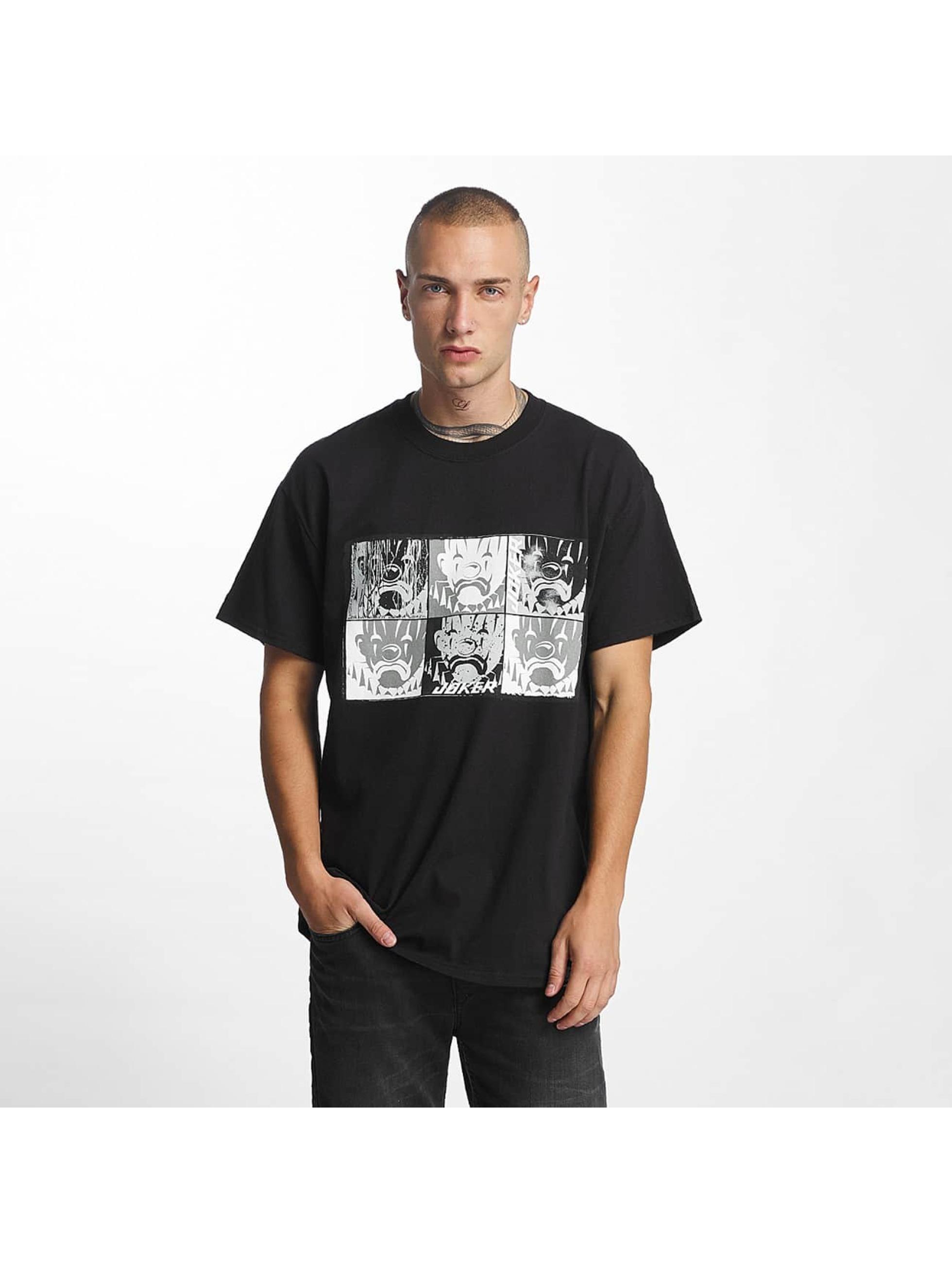 Joker Männer T-Shirt Mosaic in schwarz