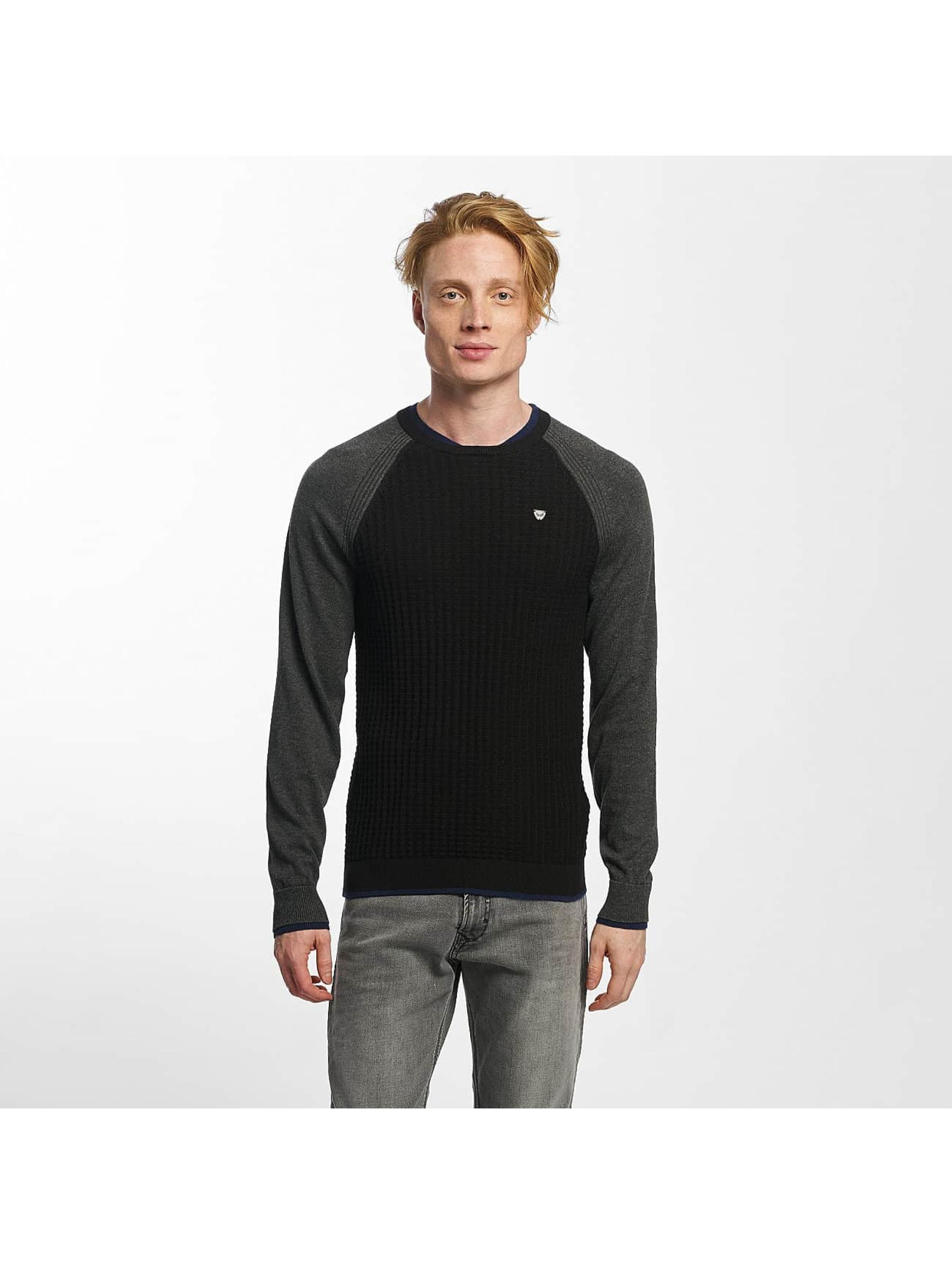 Kaporal Männer Pullover Happy Days in schwarz