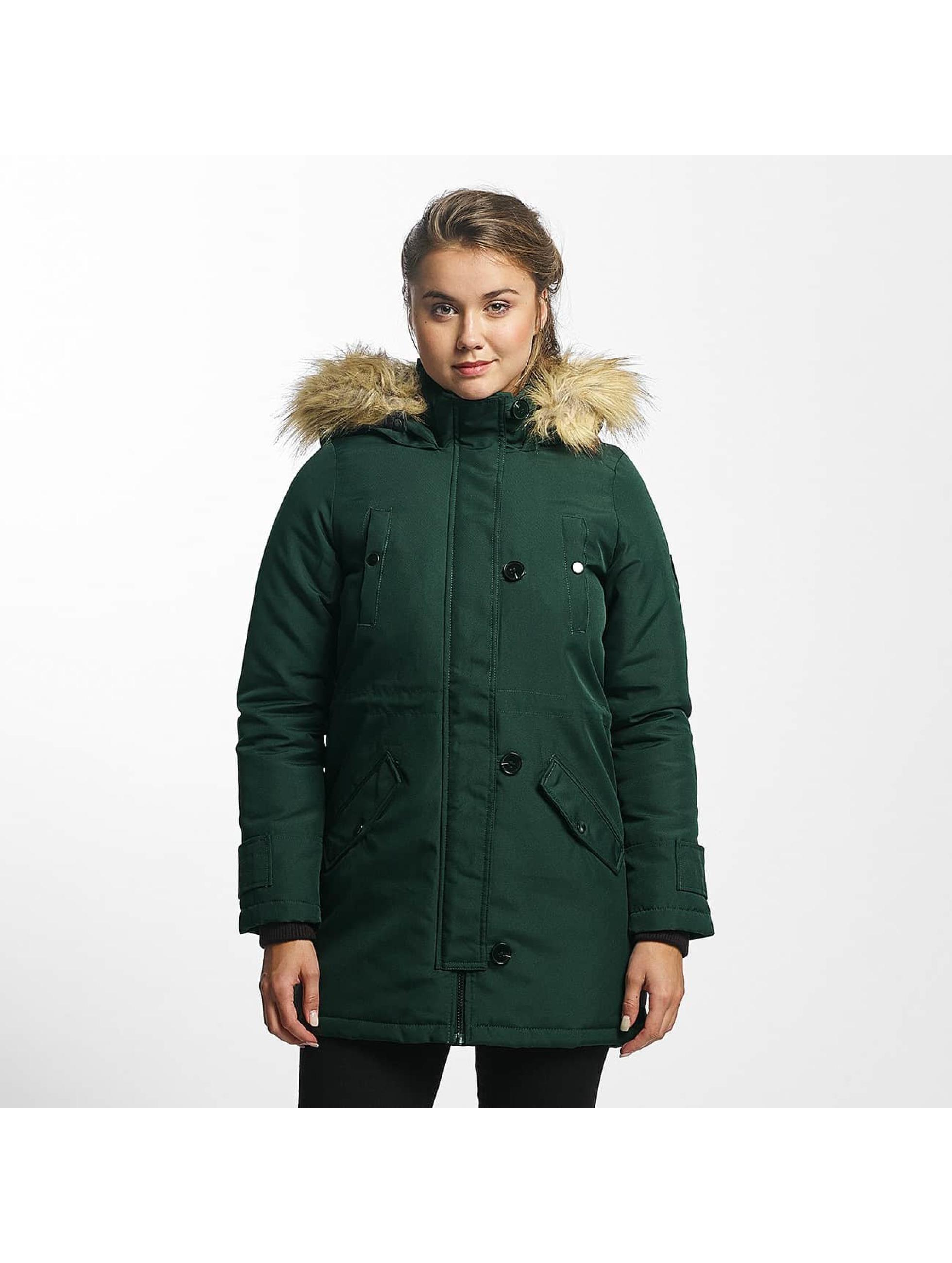Vero Moda Frauen Winterjacke vmExcursion Expedition 3/4 in grün