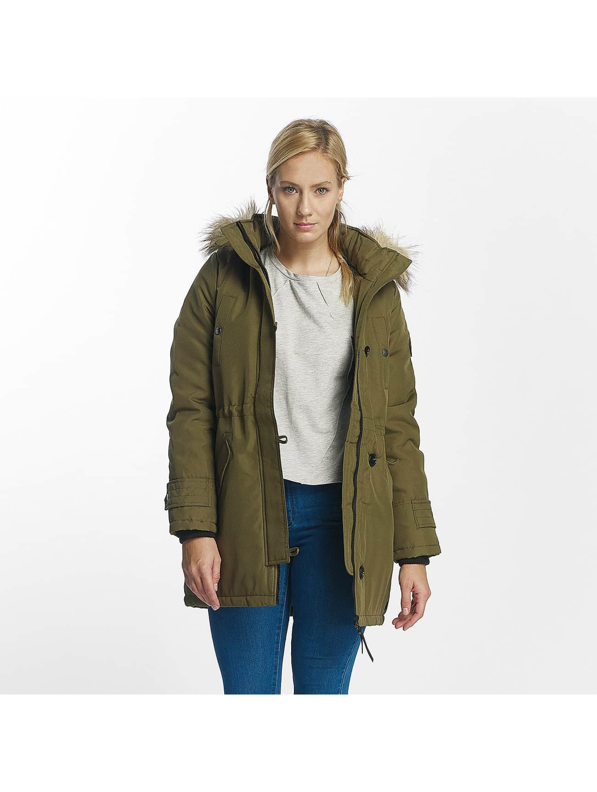 Vero Moda Frauen Winterjacke vmExcursion in olive