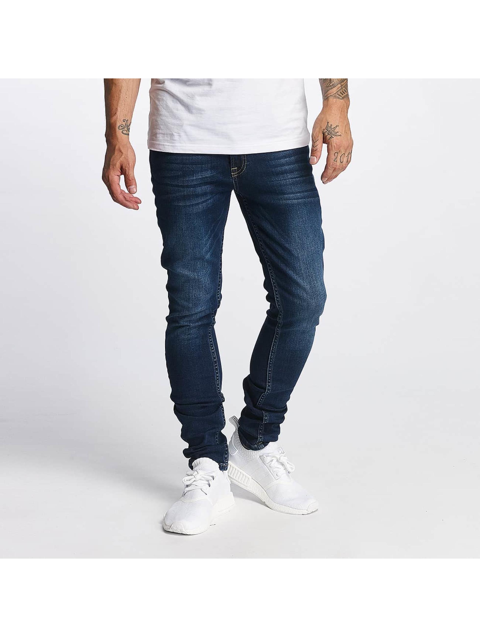 DEF Männer Slim Fit Jeans Chawai in blau