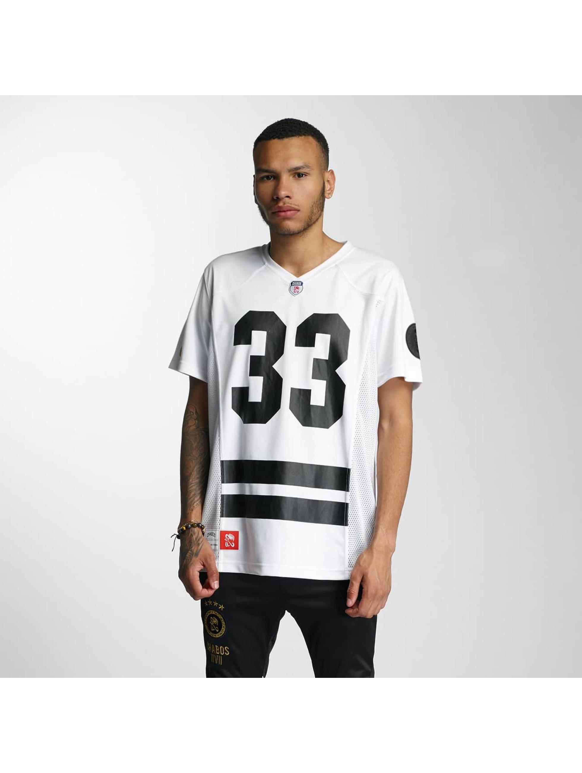 CHABOS IIVII Männer T-Shirt Football Jersey in weiß