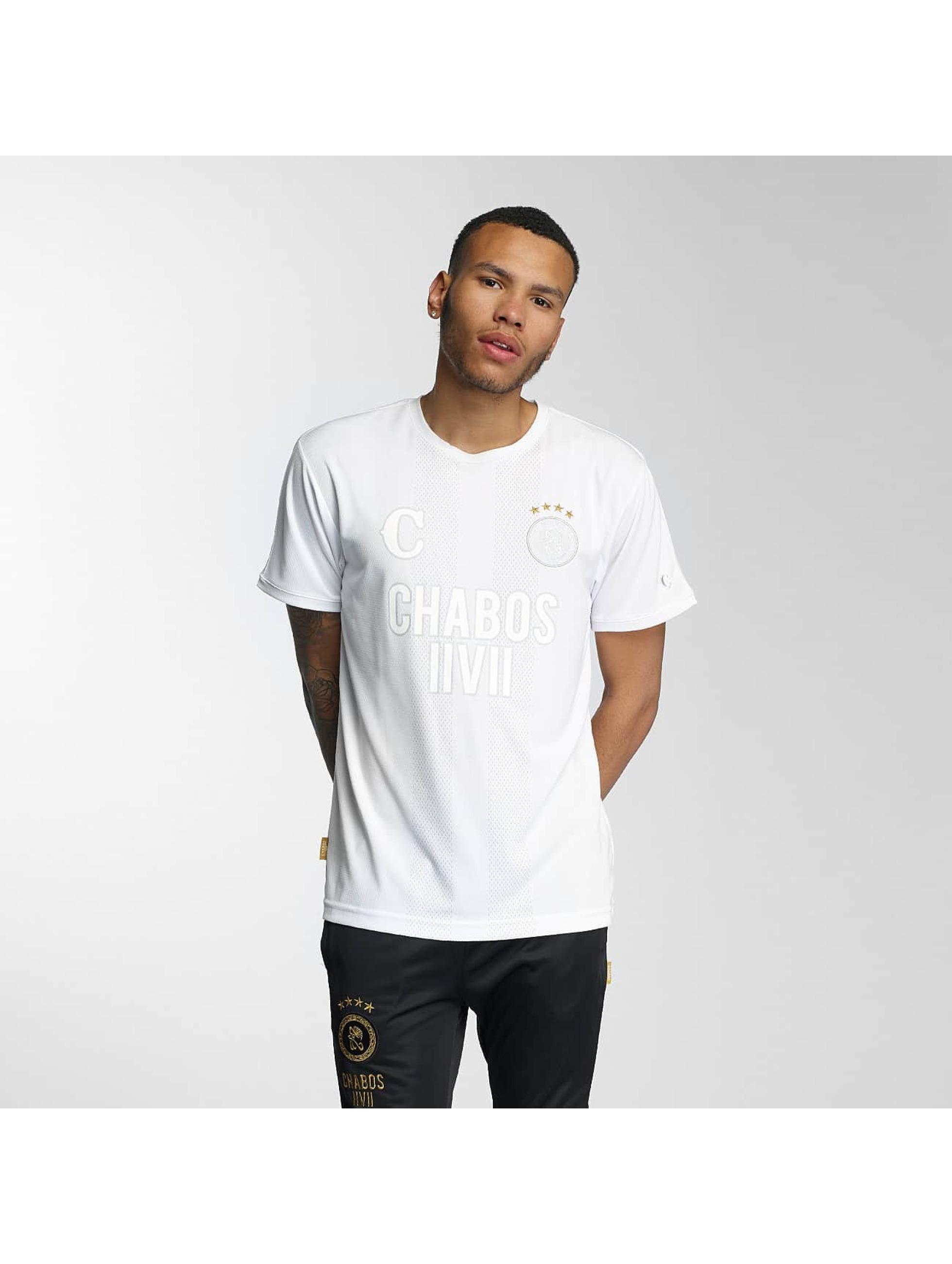 CHABOS IIVII Männer T-Shirt Bianci Soccer in weiß