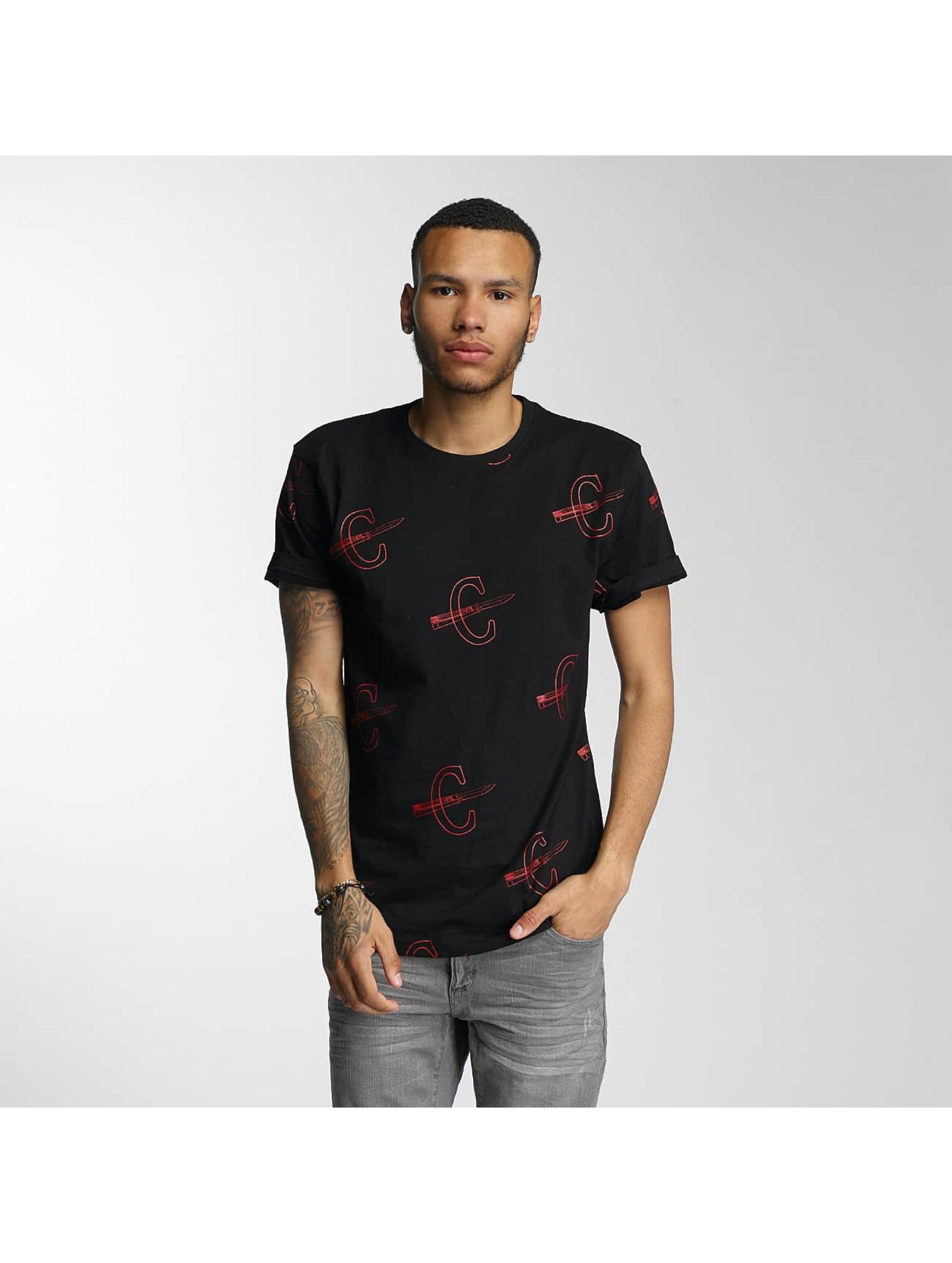 CHABOS IIVII Männer T-Shirt Cheuro in schwarz