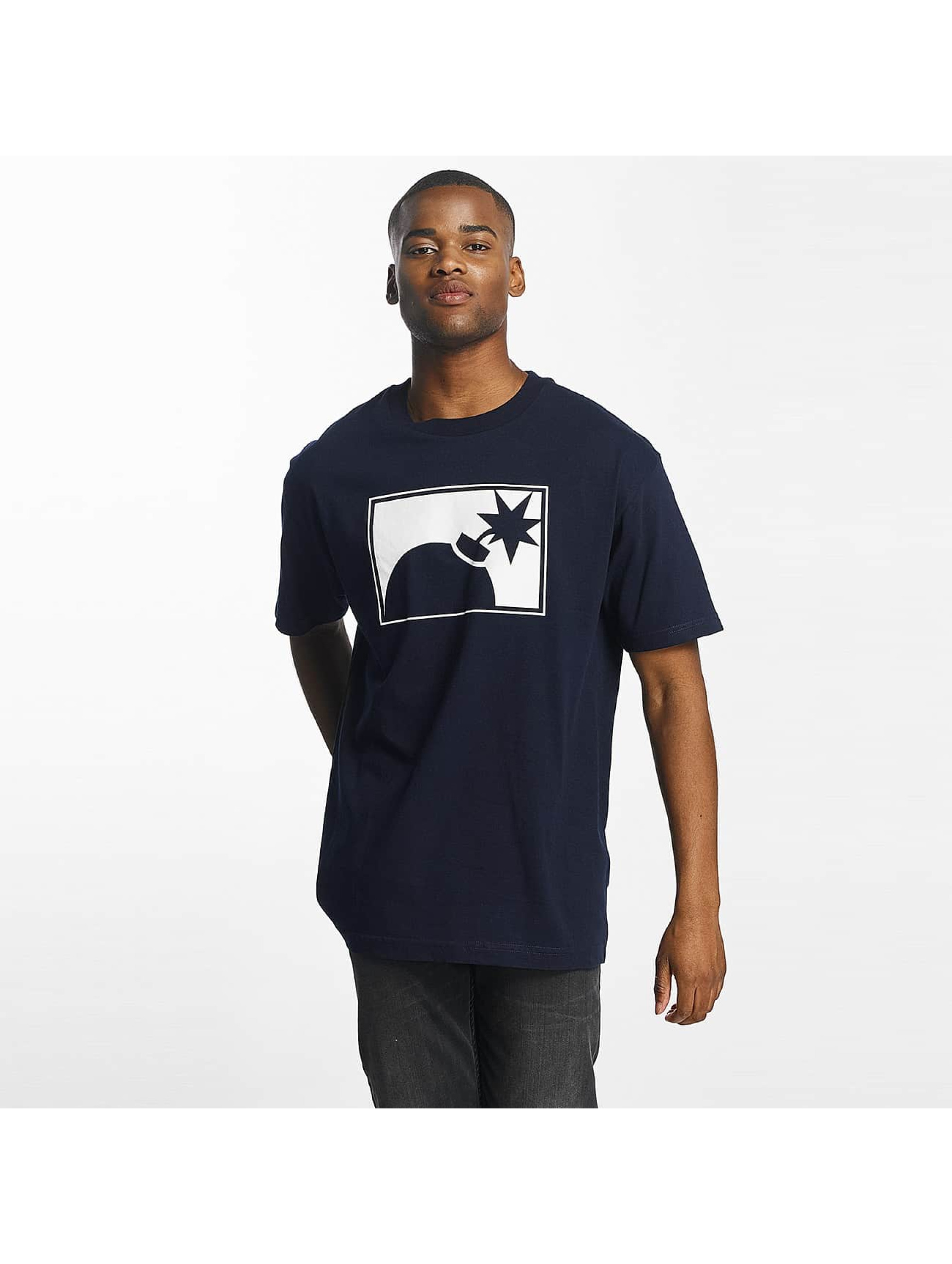 The Hundreds Männer T-Shirt Forever Halfbomb in blau