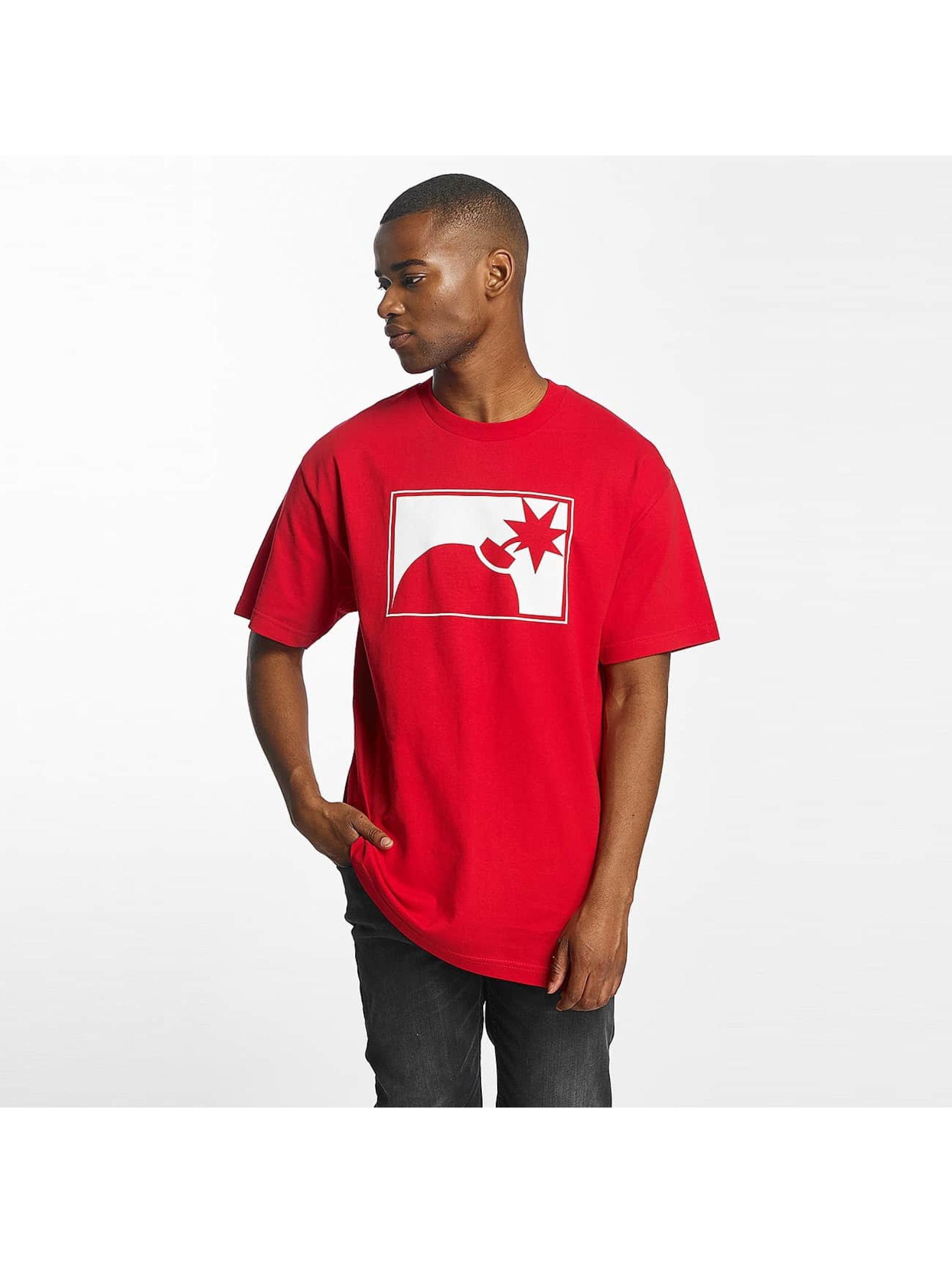 The Hundreds Männer T-Shirt Forever Halfbomb in rot