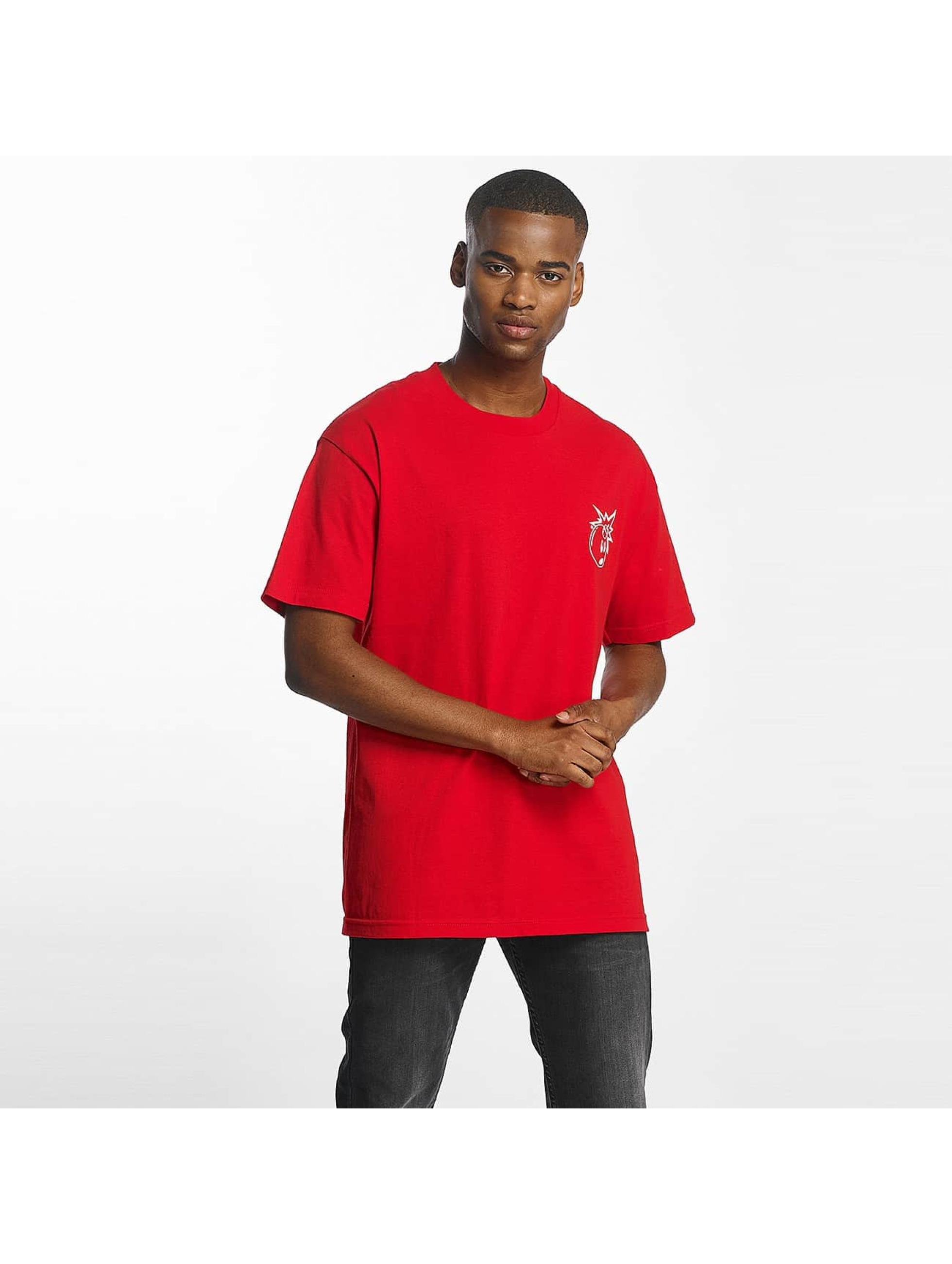 The Hundreds Männer T-Shirt Forever Simple Adam in rot