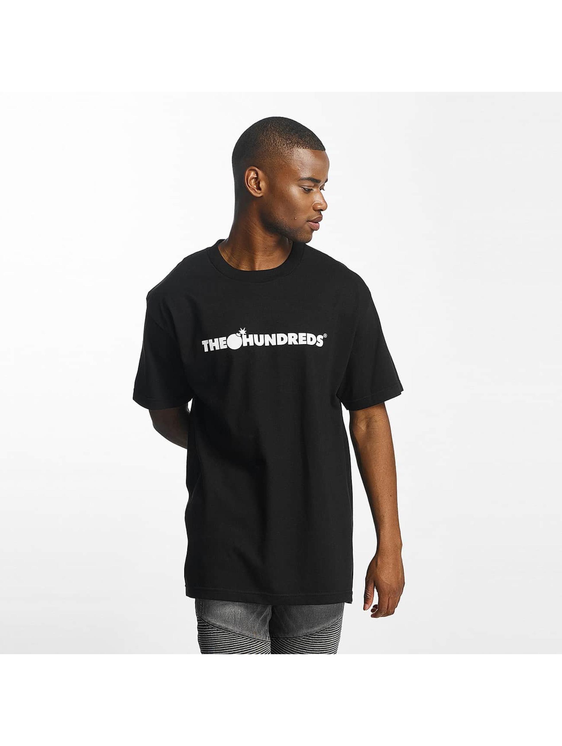 The Hundreds Männer T-Shirt Forever Bar Logo in schwarz
