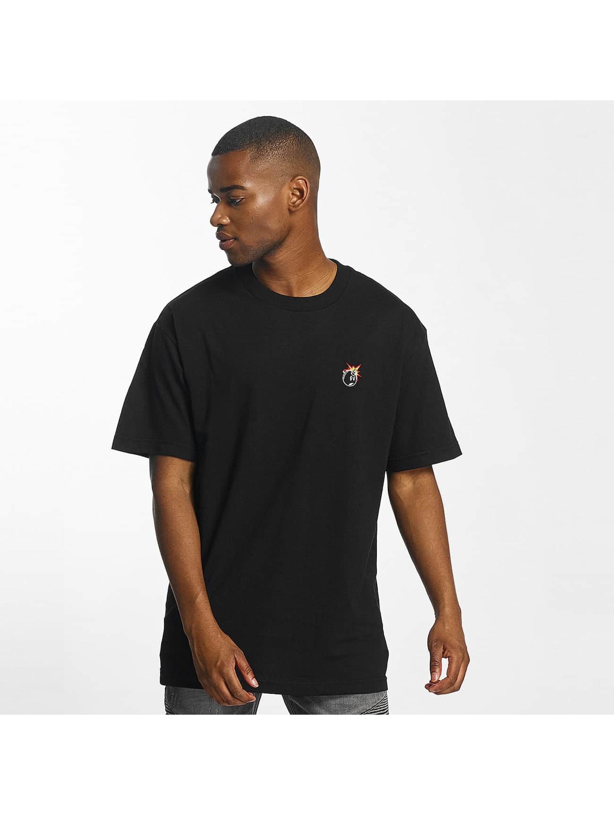The Hundreds Männer T-Shirt Crest Adam in schwarz