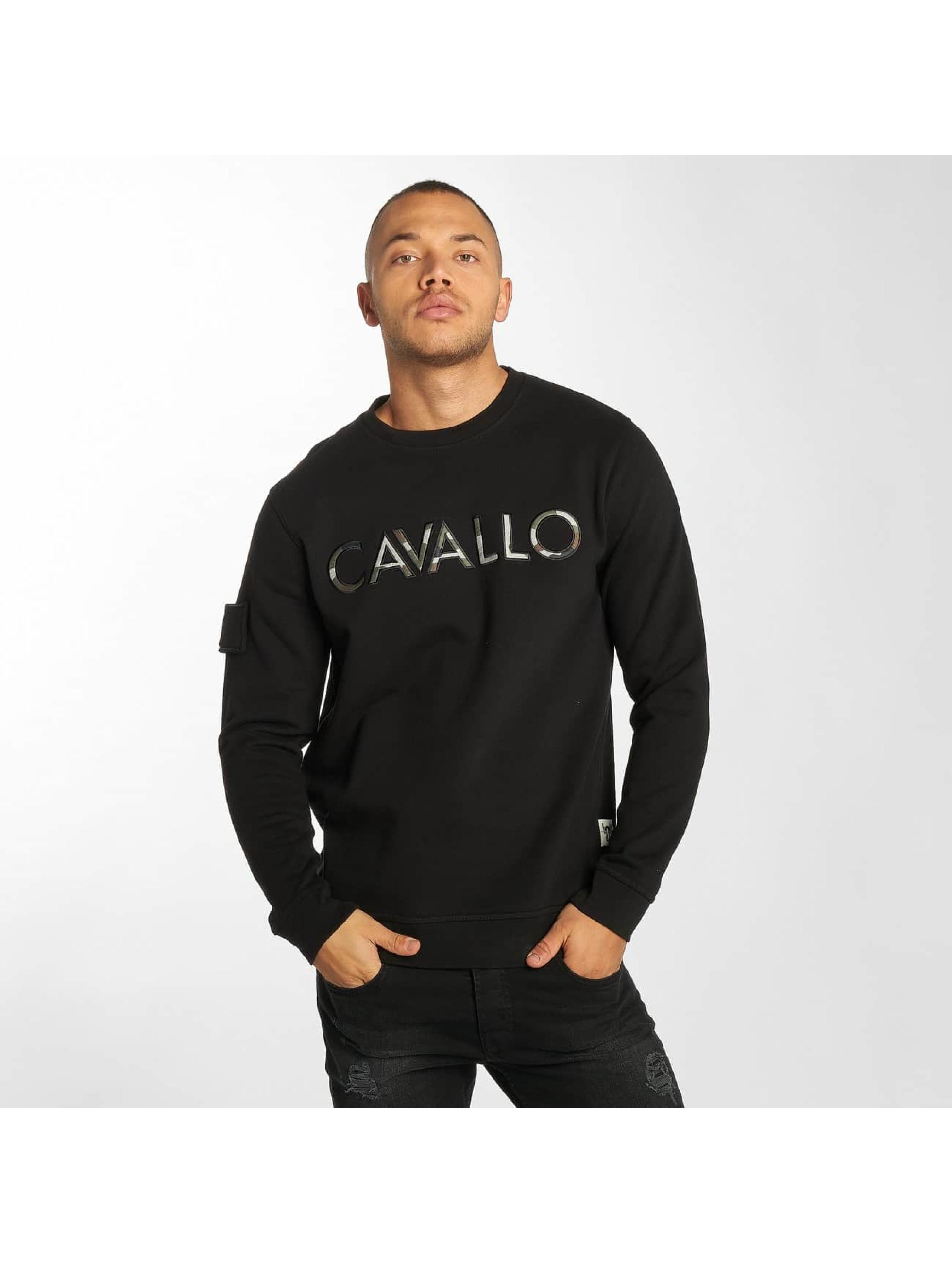 Cavallo de Ferro / Pullover Camo Logo in black S