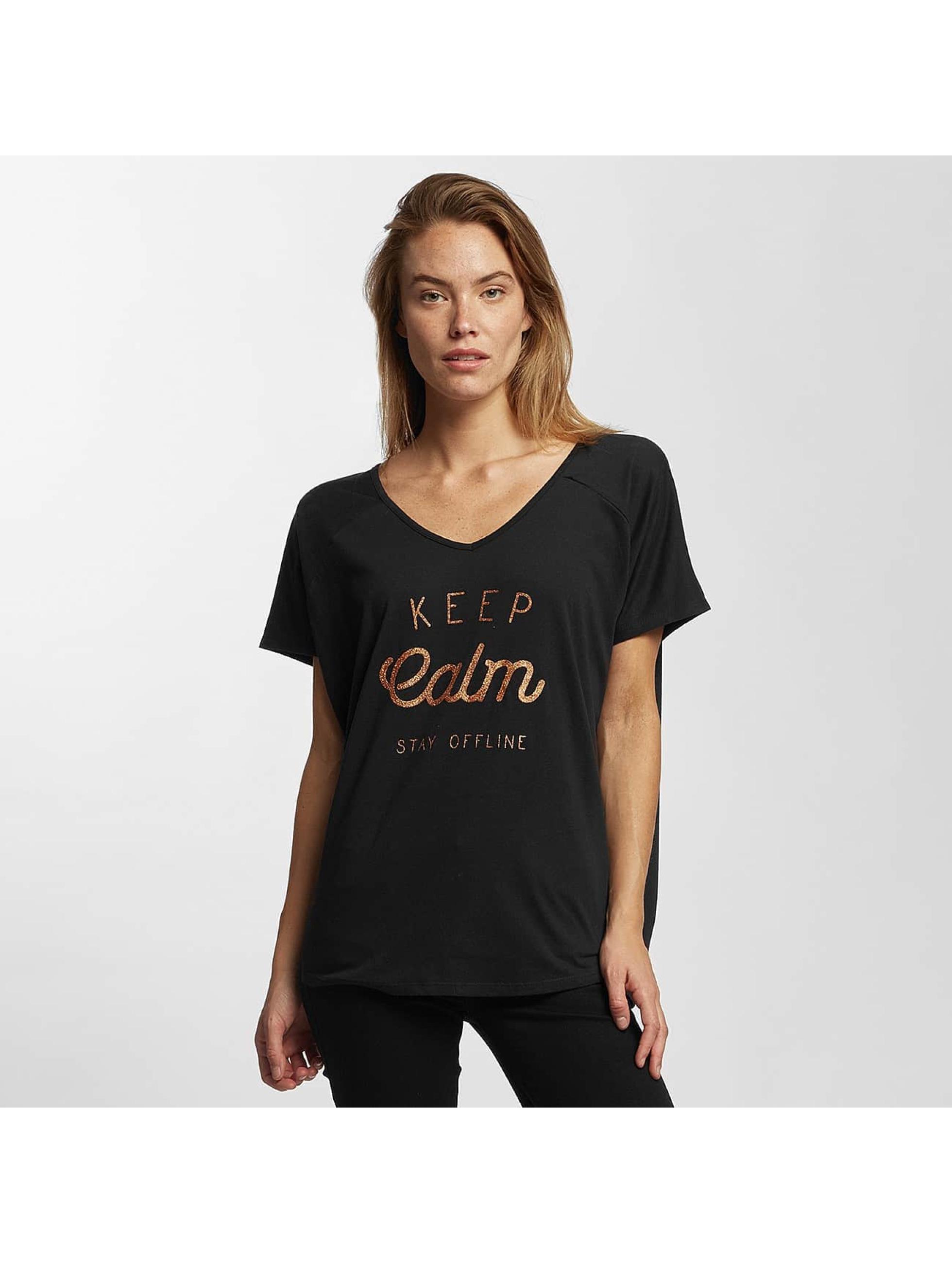 Oxbow Frauen T-Shirt Travyb in schwarz