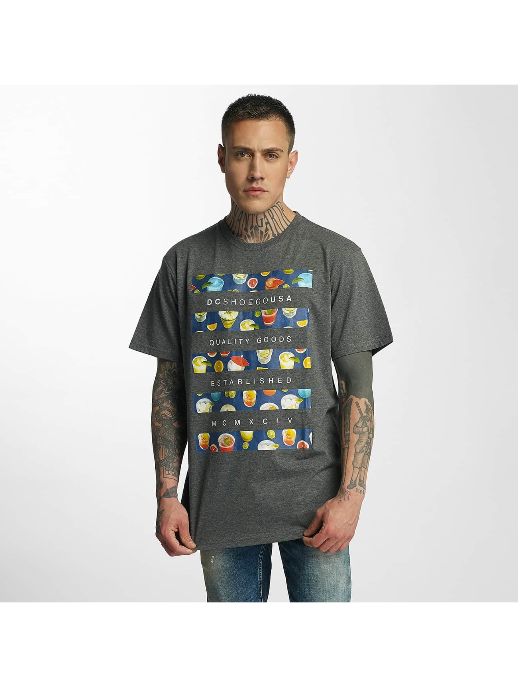 DC Männer T-Shirt Drinkit in grau