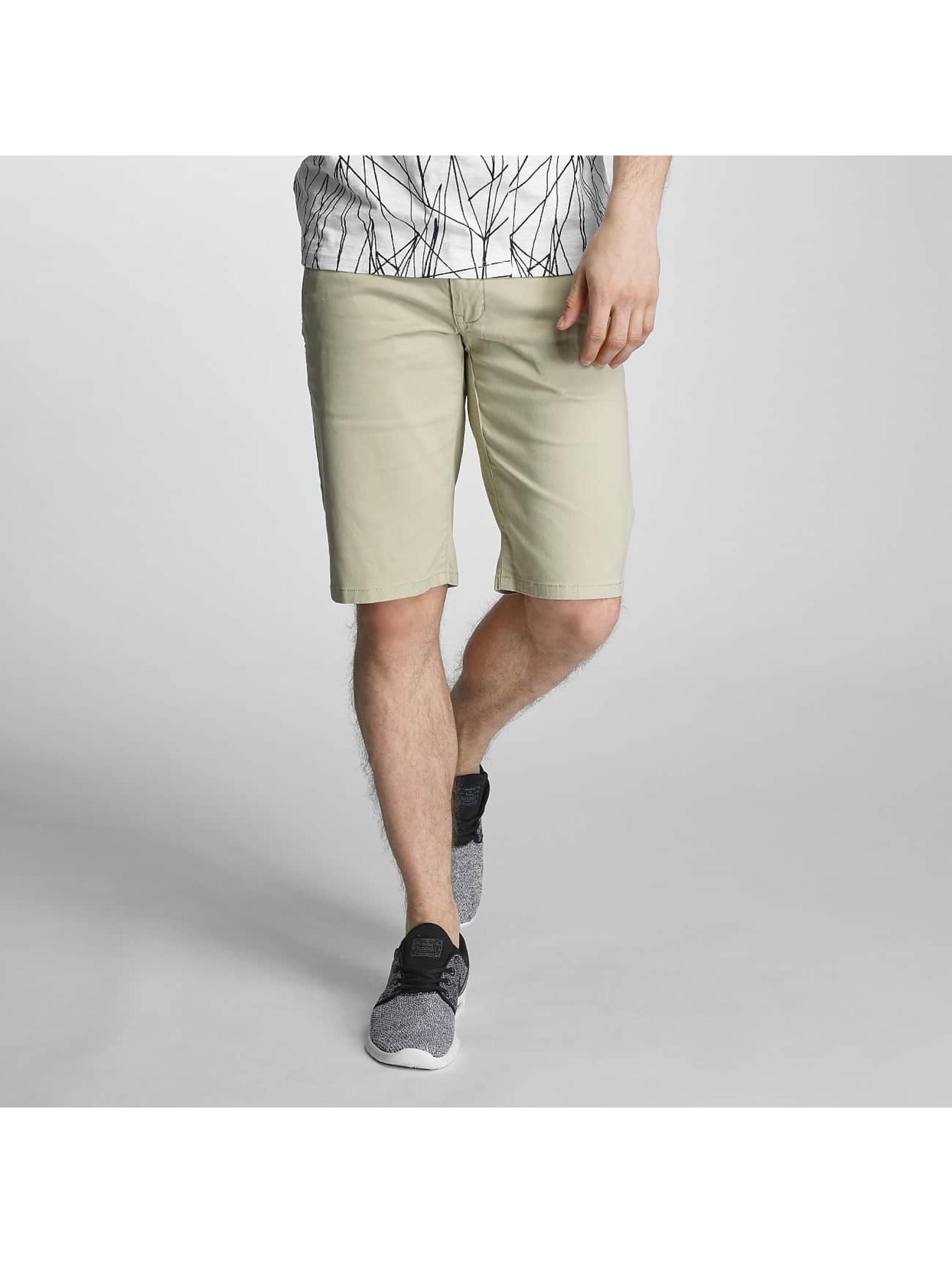 SHINE Original Detailed Strech Chino Shorts Sand