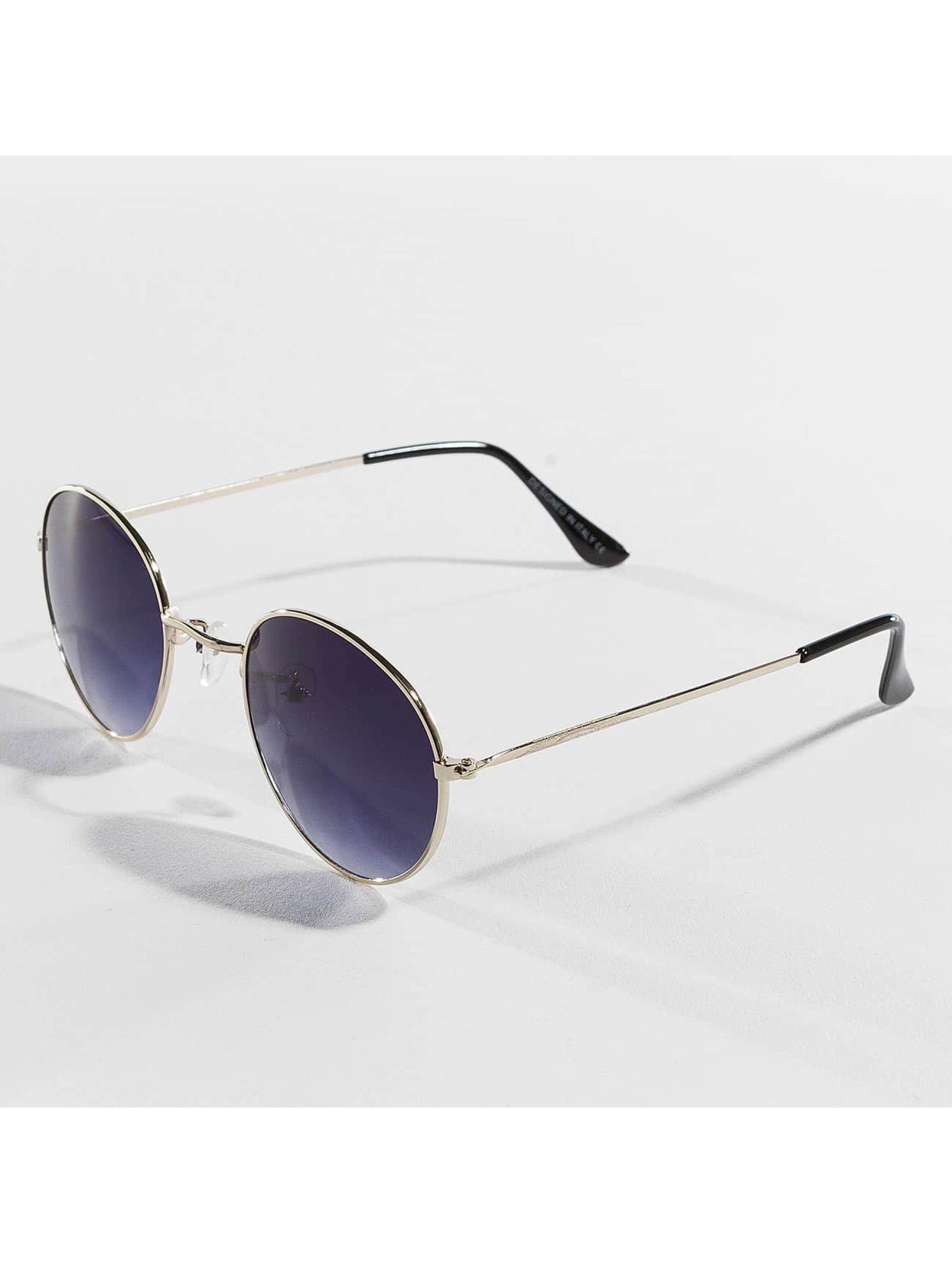 Hailys Männer,Frauen Sonnenbrille Rondie in goldfarben