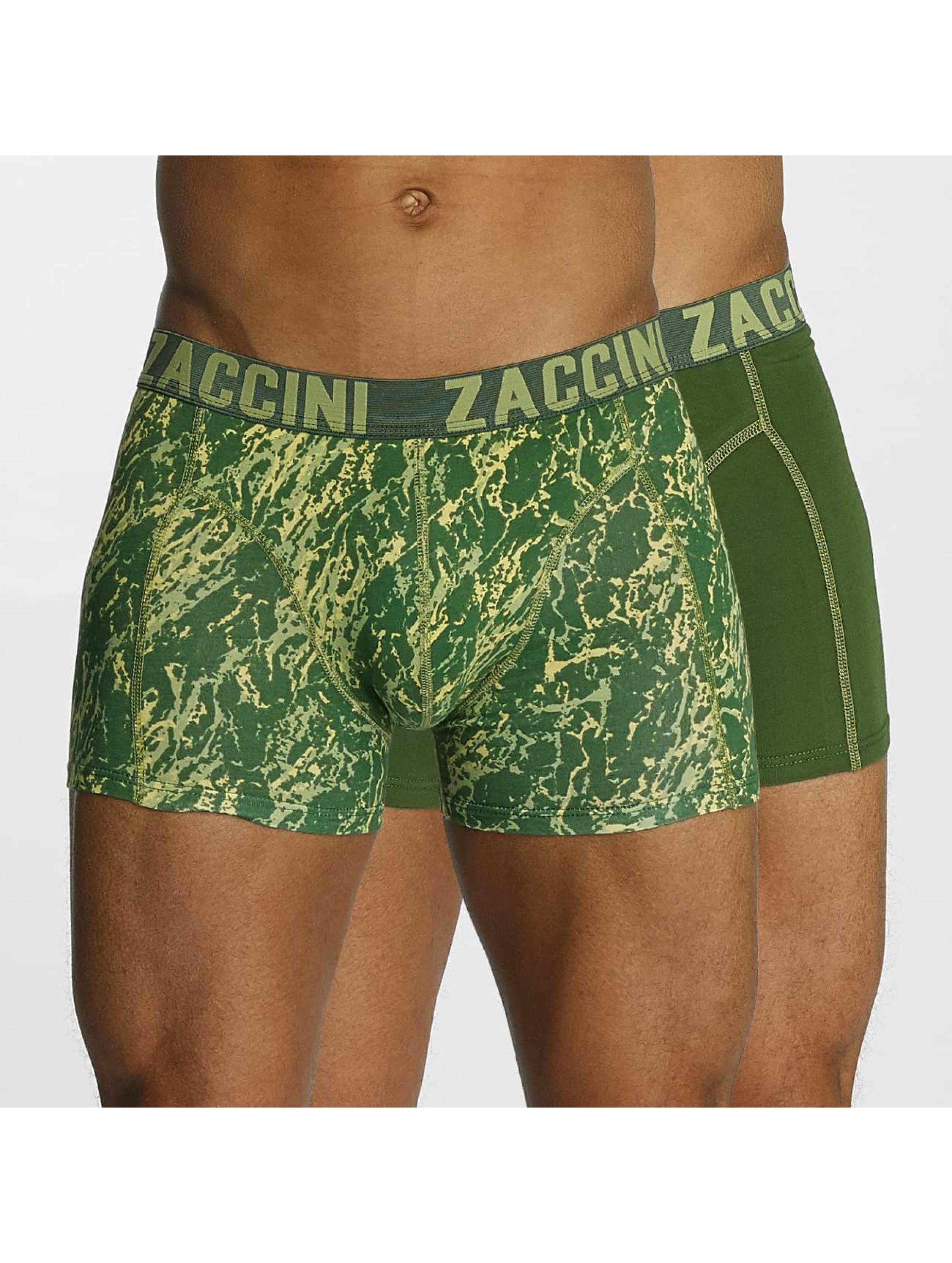 Zaccini Männer Boxershorts Mineral in grün