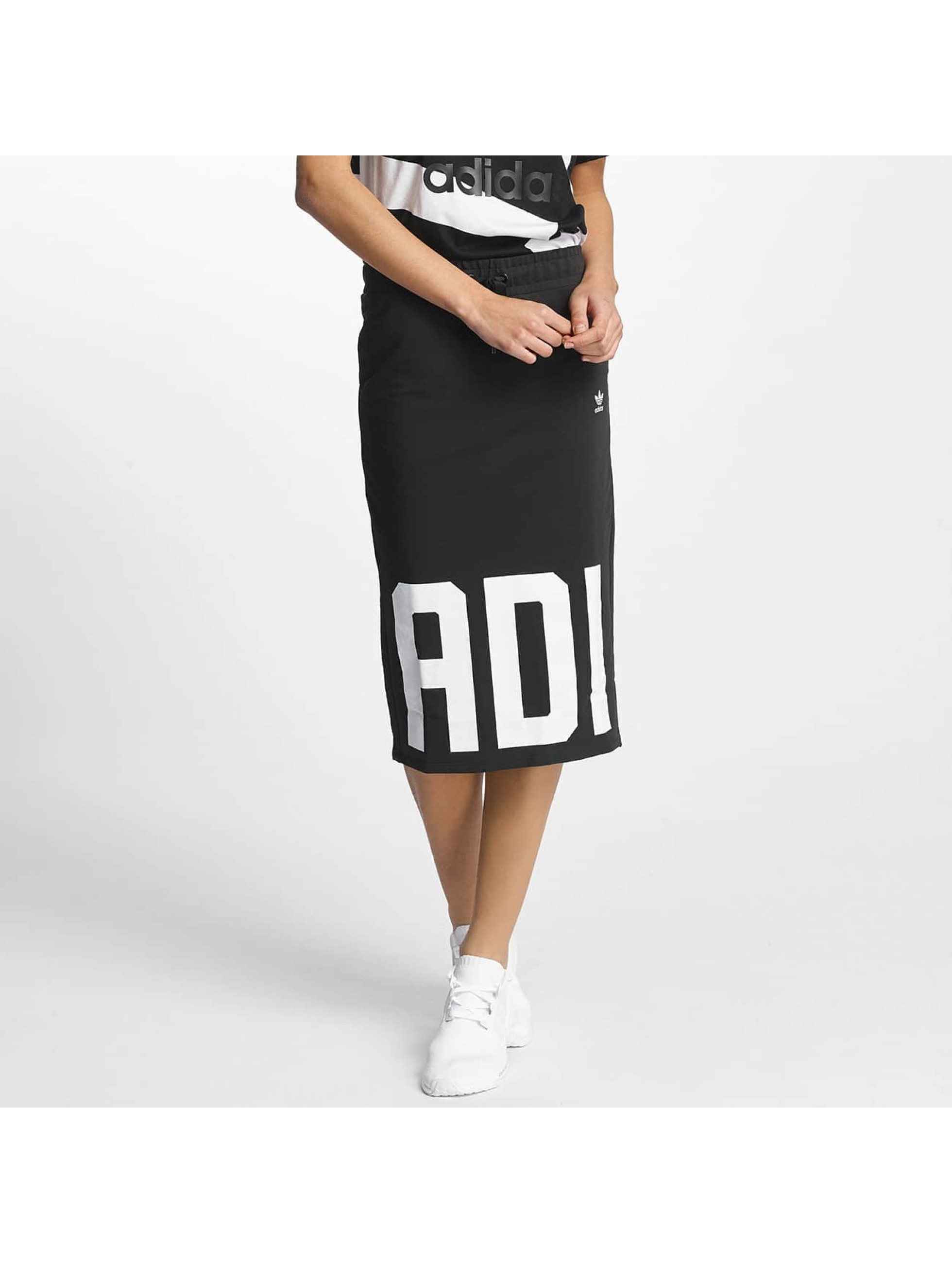 adidas Frauen Rock Skirt in schwarz