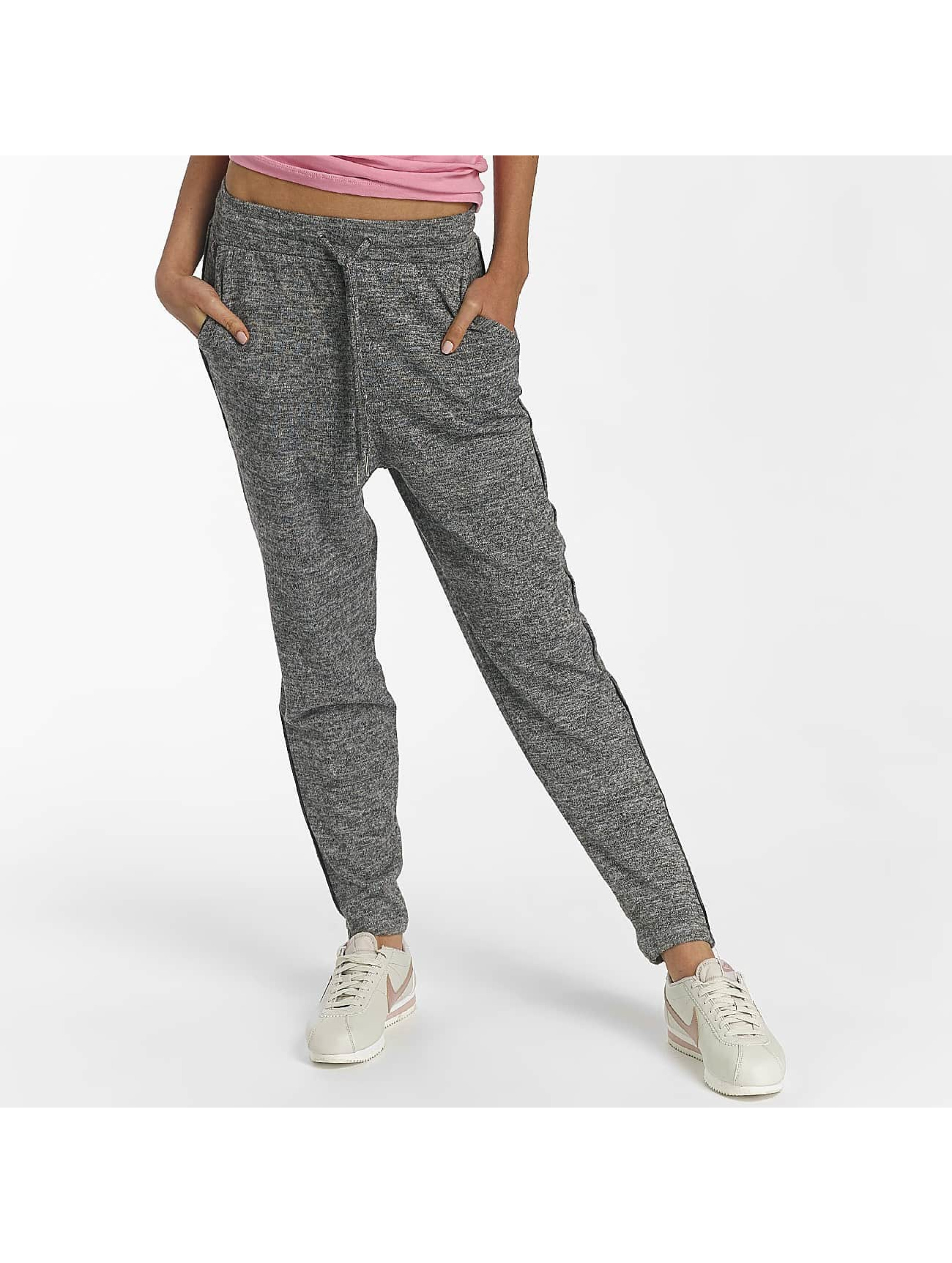 Only Frauen Jogginghose onlElcos in grau