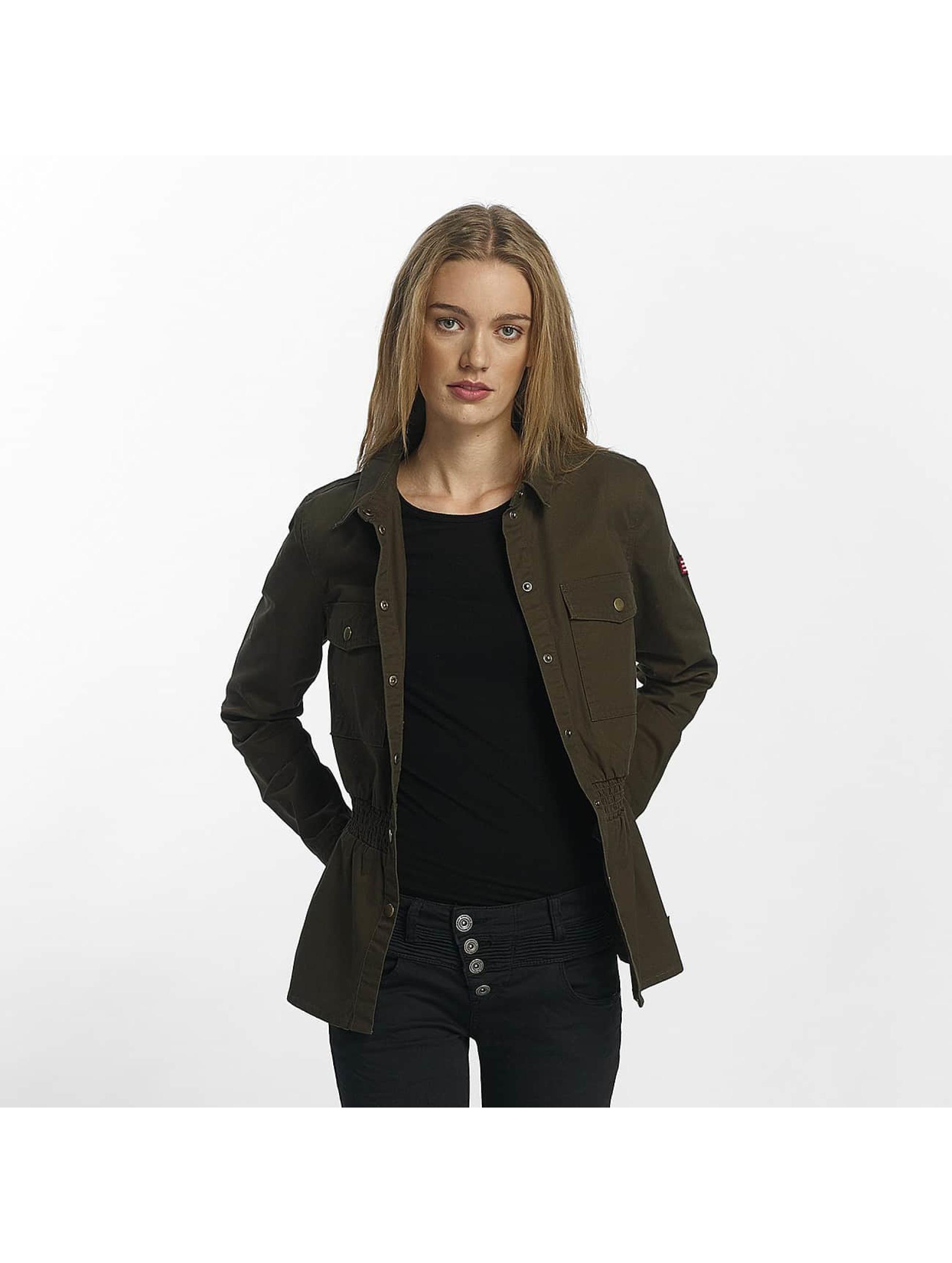 Only Frauen Übergangsjacke onlArmor in khaki